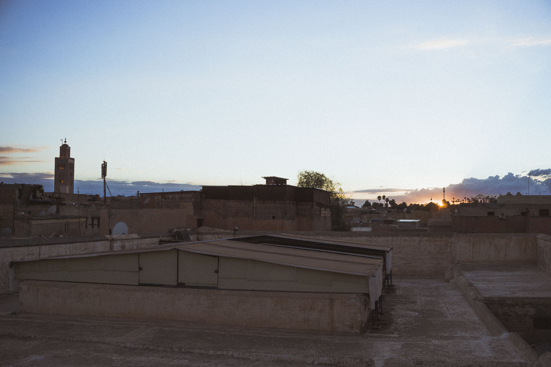 Sunset in Fez