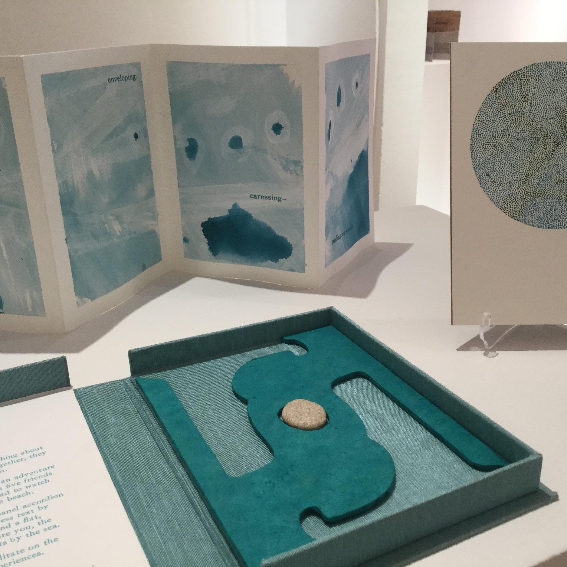 Melanie Mowinski    Laser-cut binders board for clamshell box