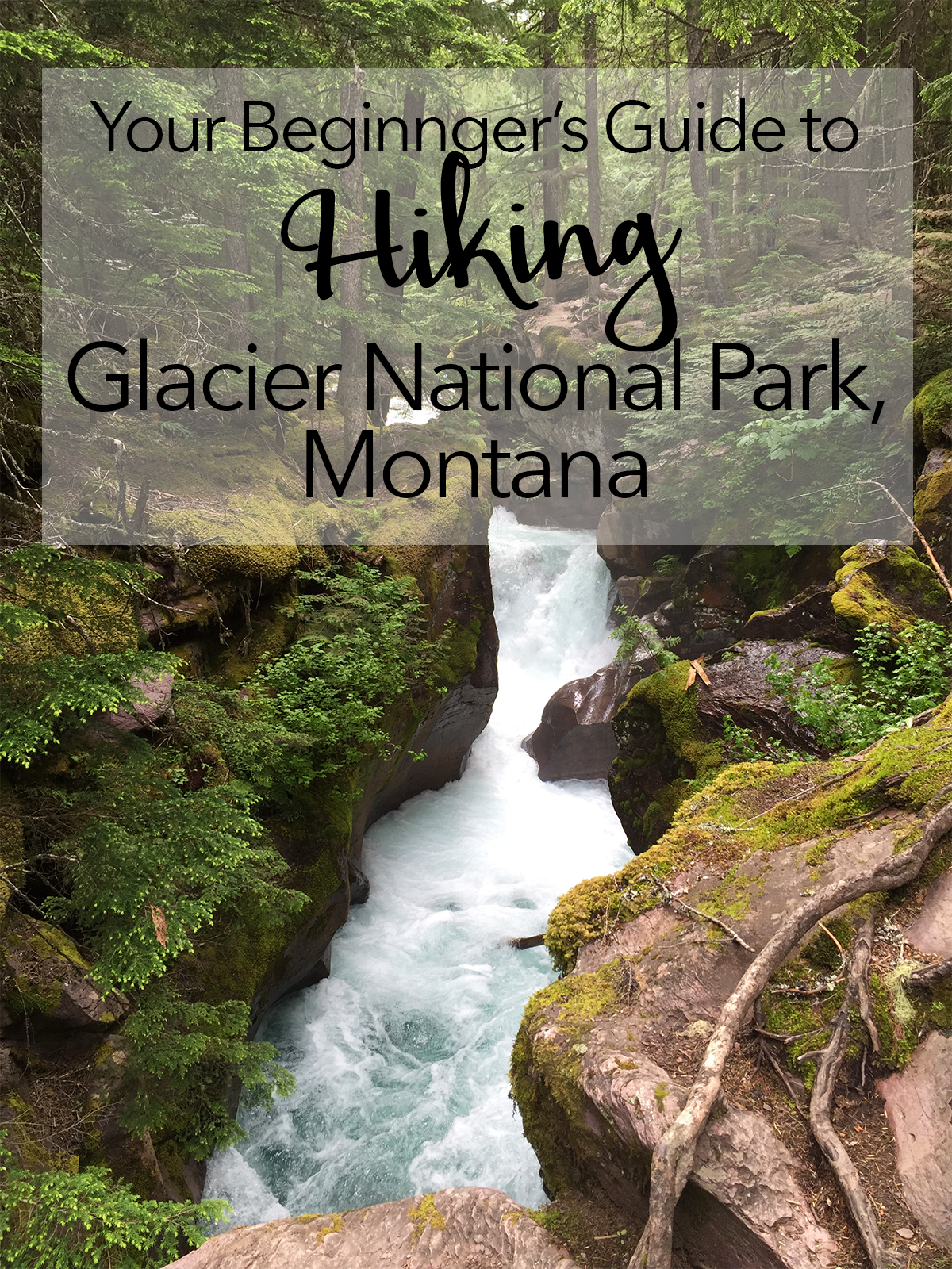 Glacier National Park Hiking recommendations