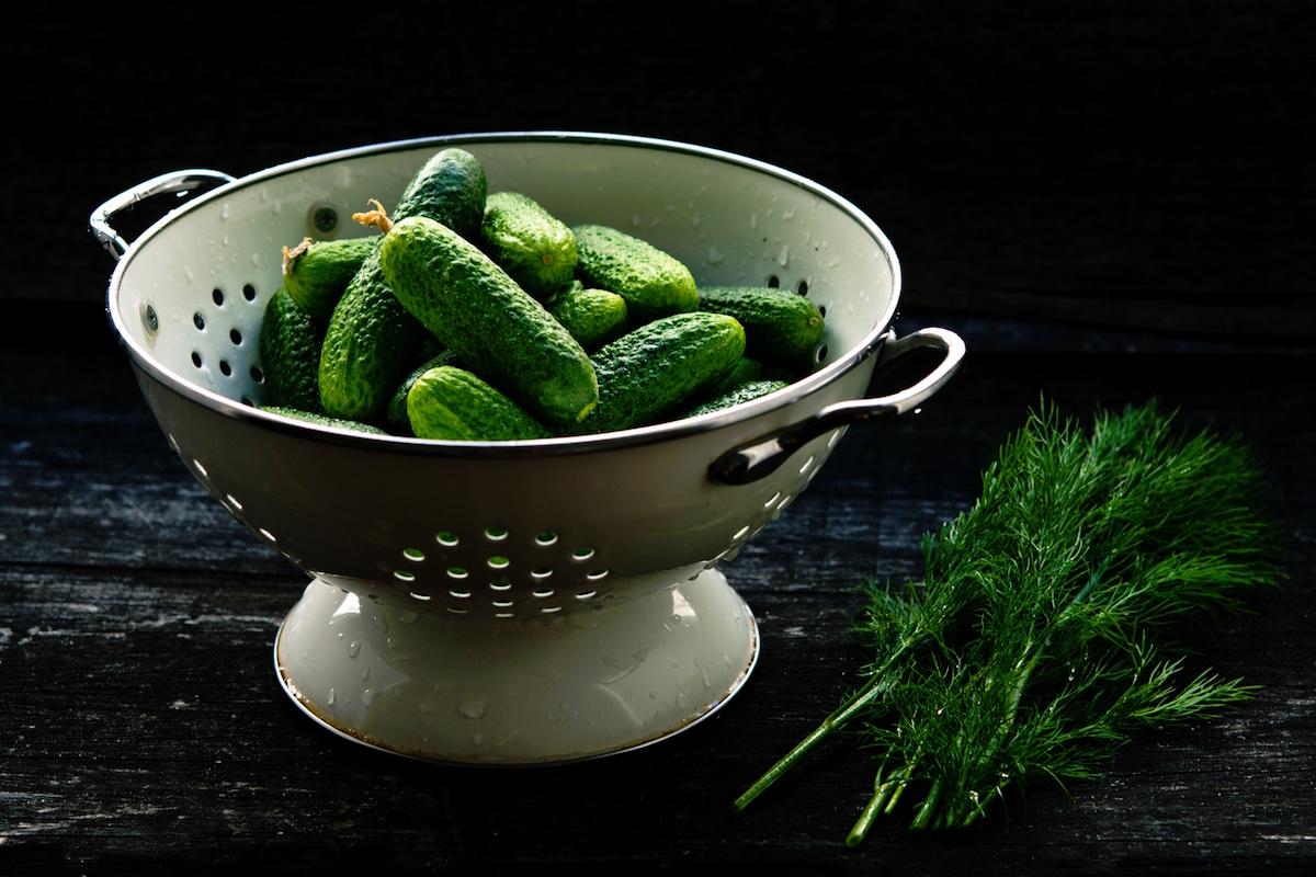 Prevent jet lag food cucumbers