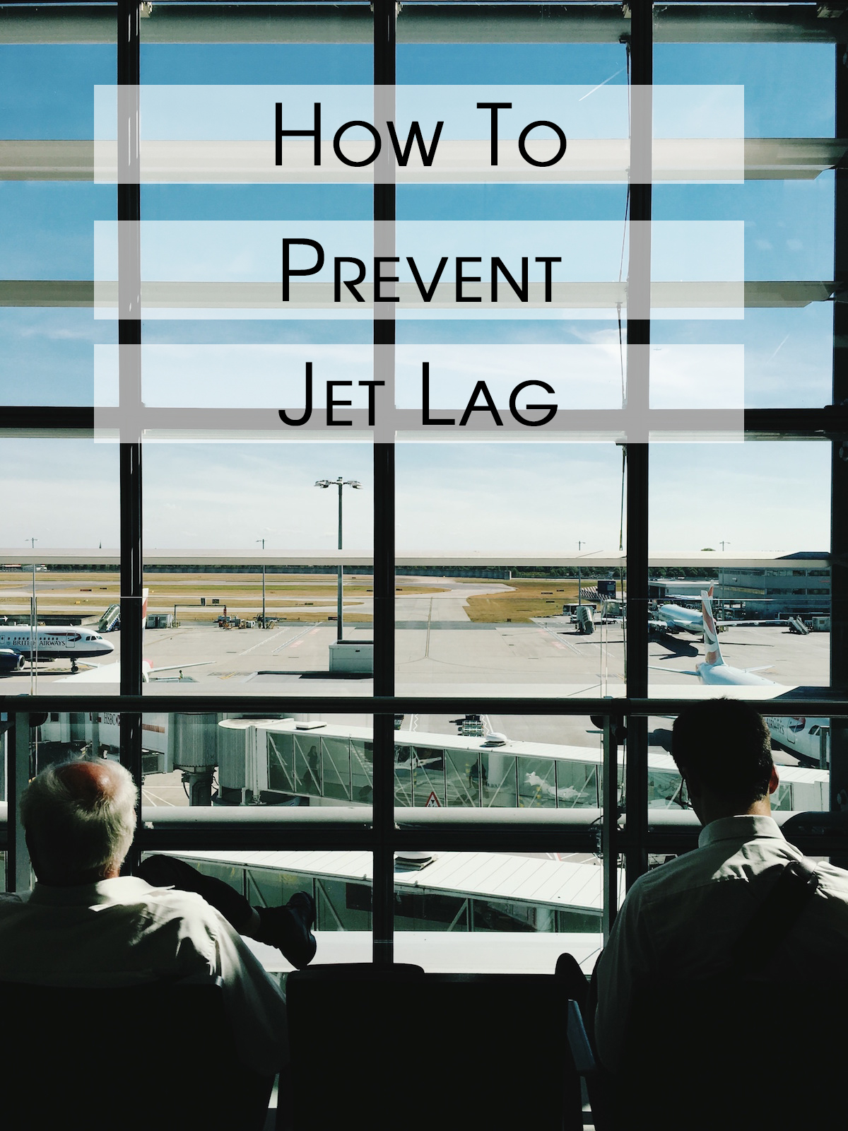 airplane travel prevent jet lag