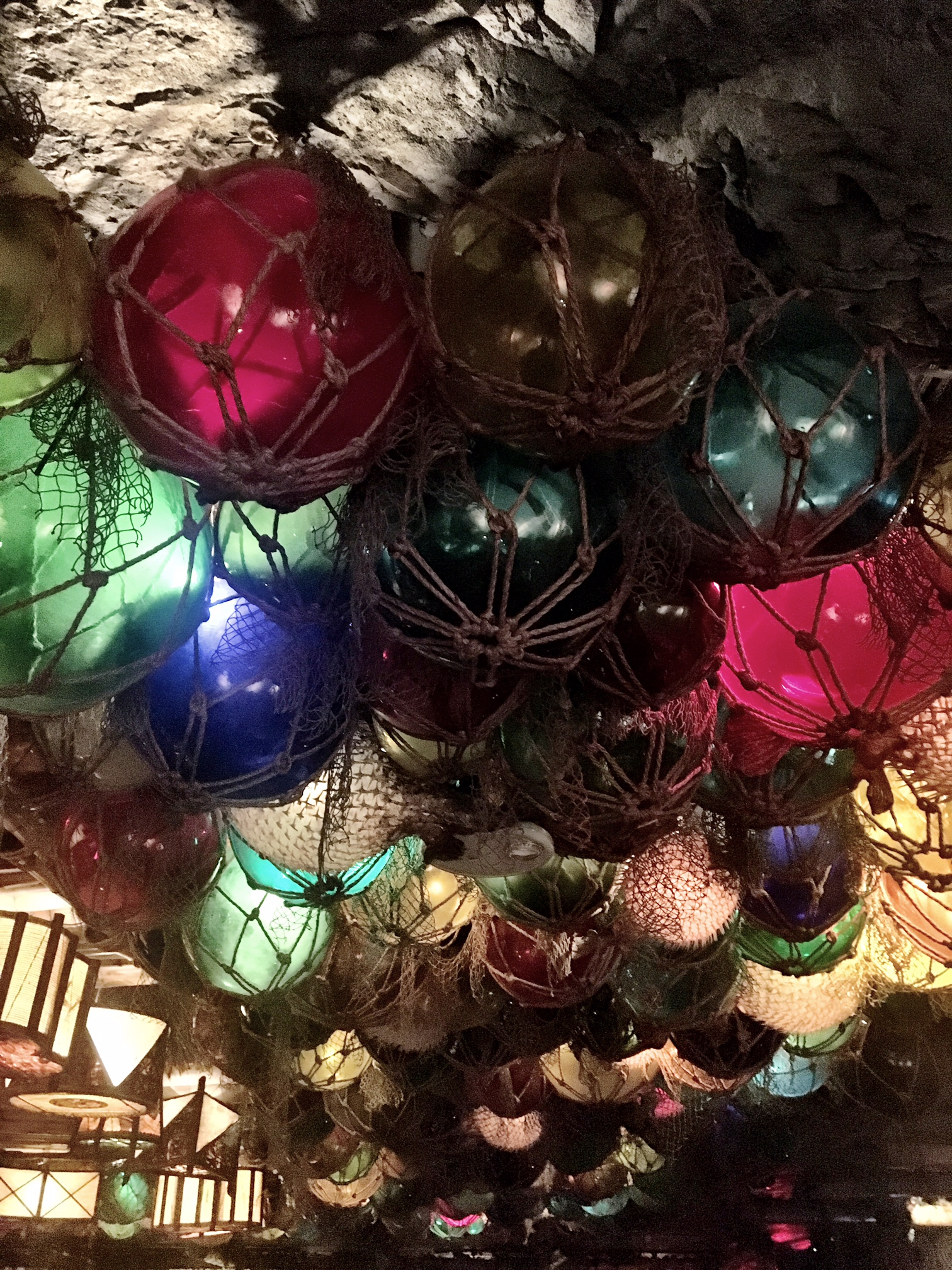 tiki decor at False Idol Tiki Bar, San Diego