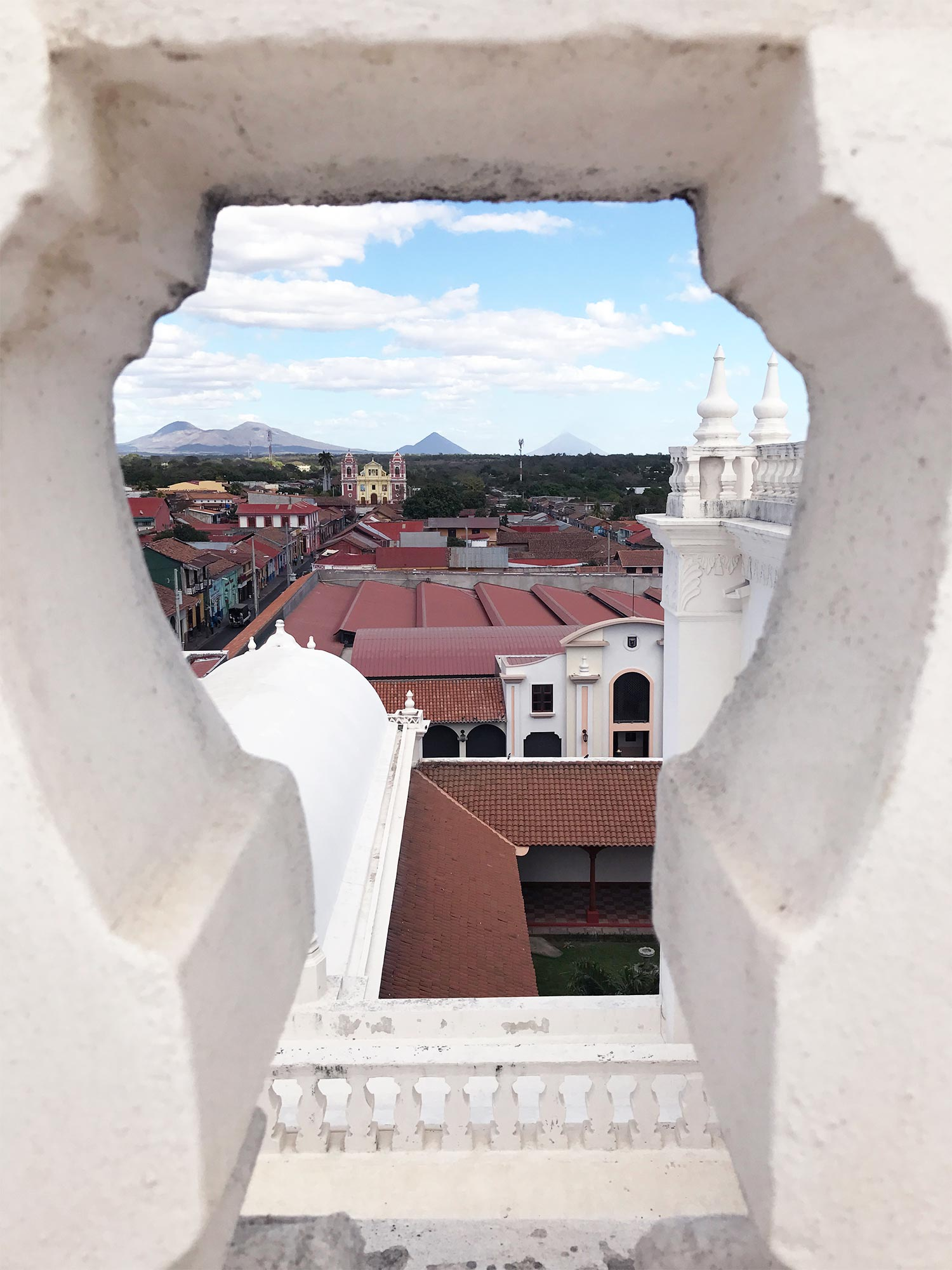 View of Leon from the Cathedral rooftop