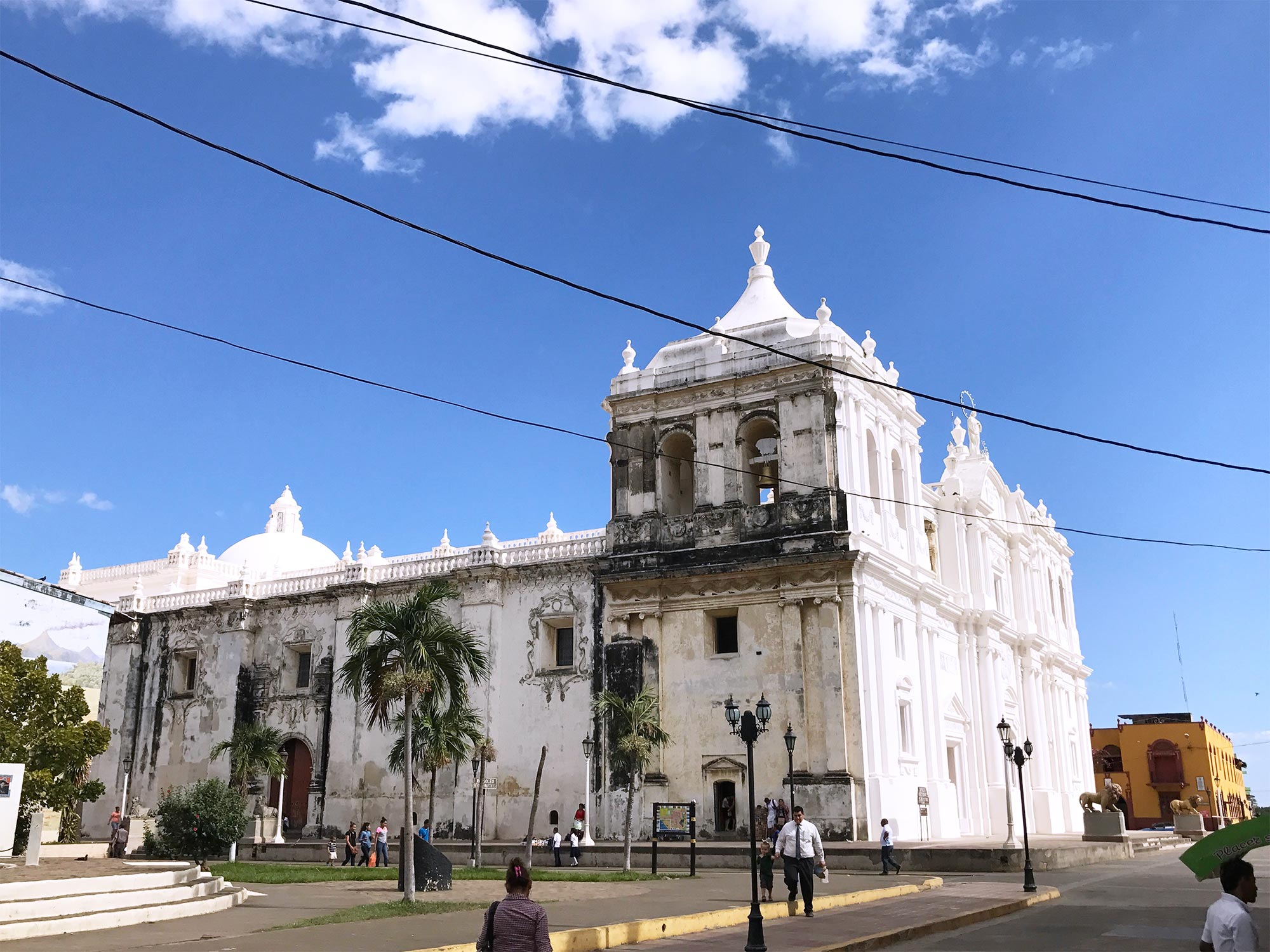 Leon Nicaragua cathedral