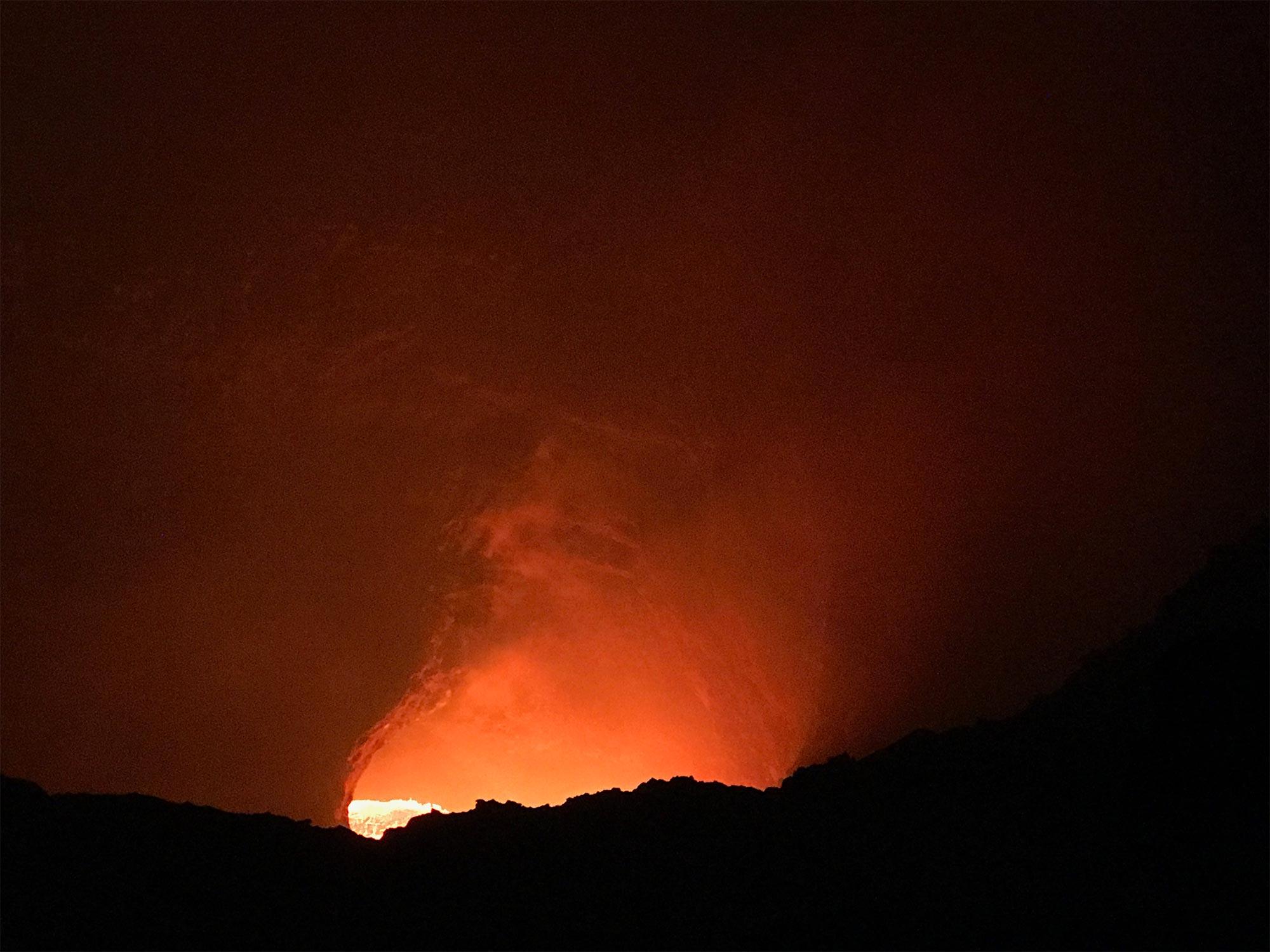 Masaya volcano lava | Best Volcano Hikes in Nicaragua