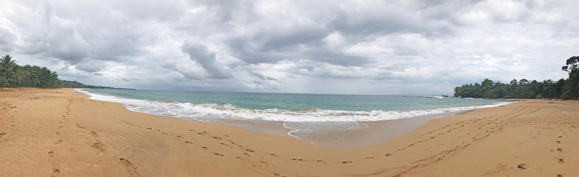 Playa Bluff Bocas del Toro, Panama