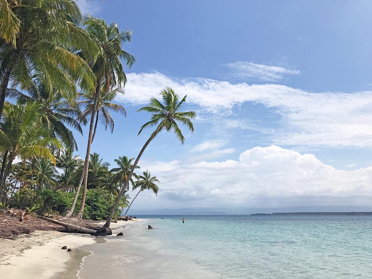 Starfish Beach or Playa Estrella on Isla Colon, Bocas del Toro