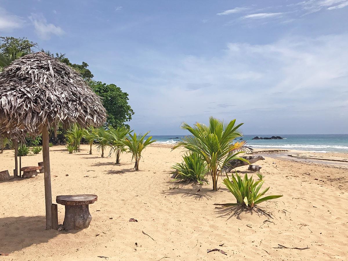 Red Frog Beach on Bocas del Toro, Panama