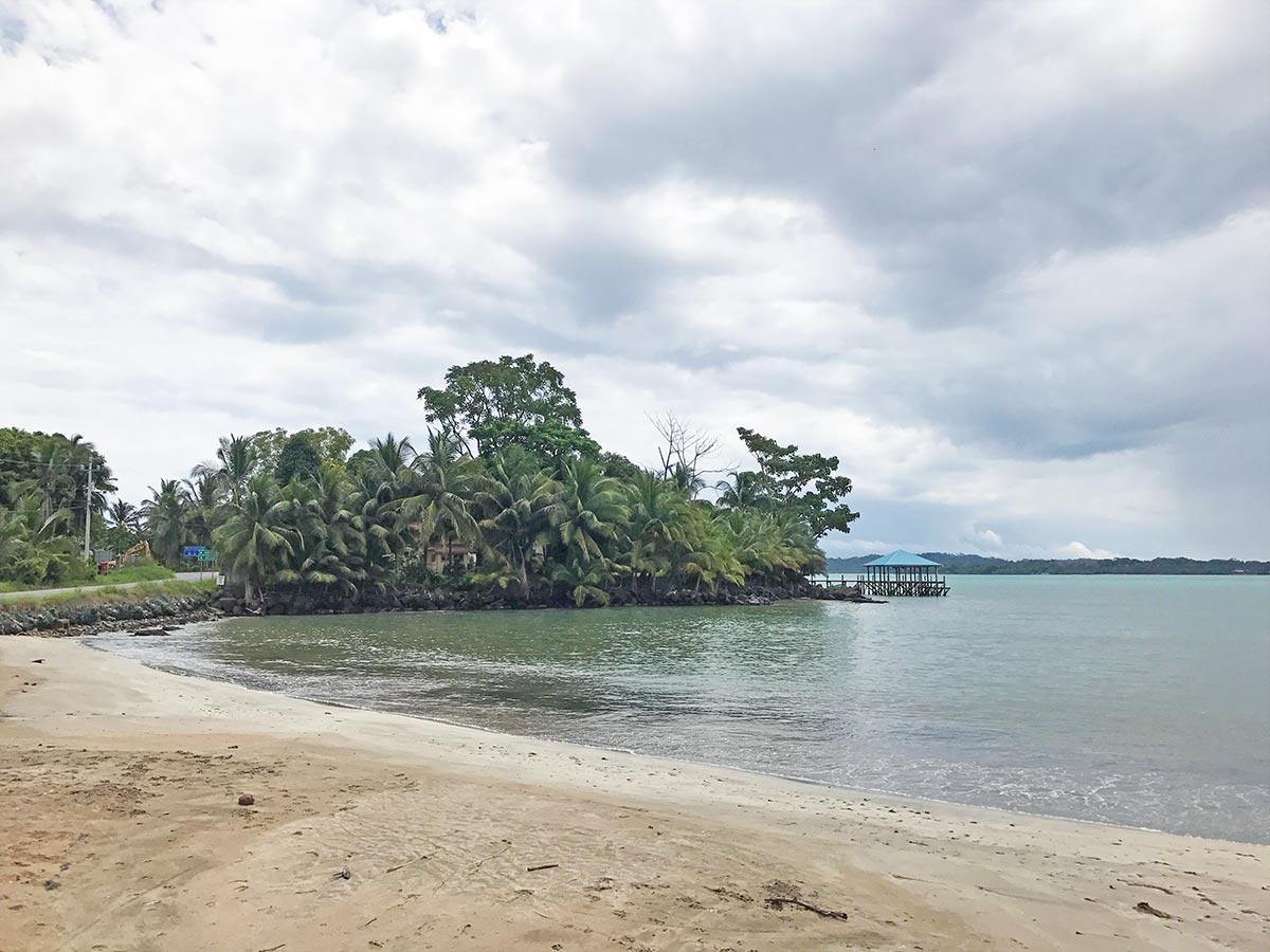Costa Azul beach in Bocas del Toro, Panama