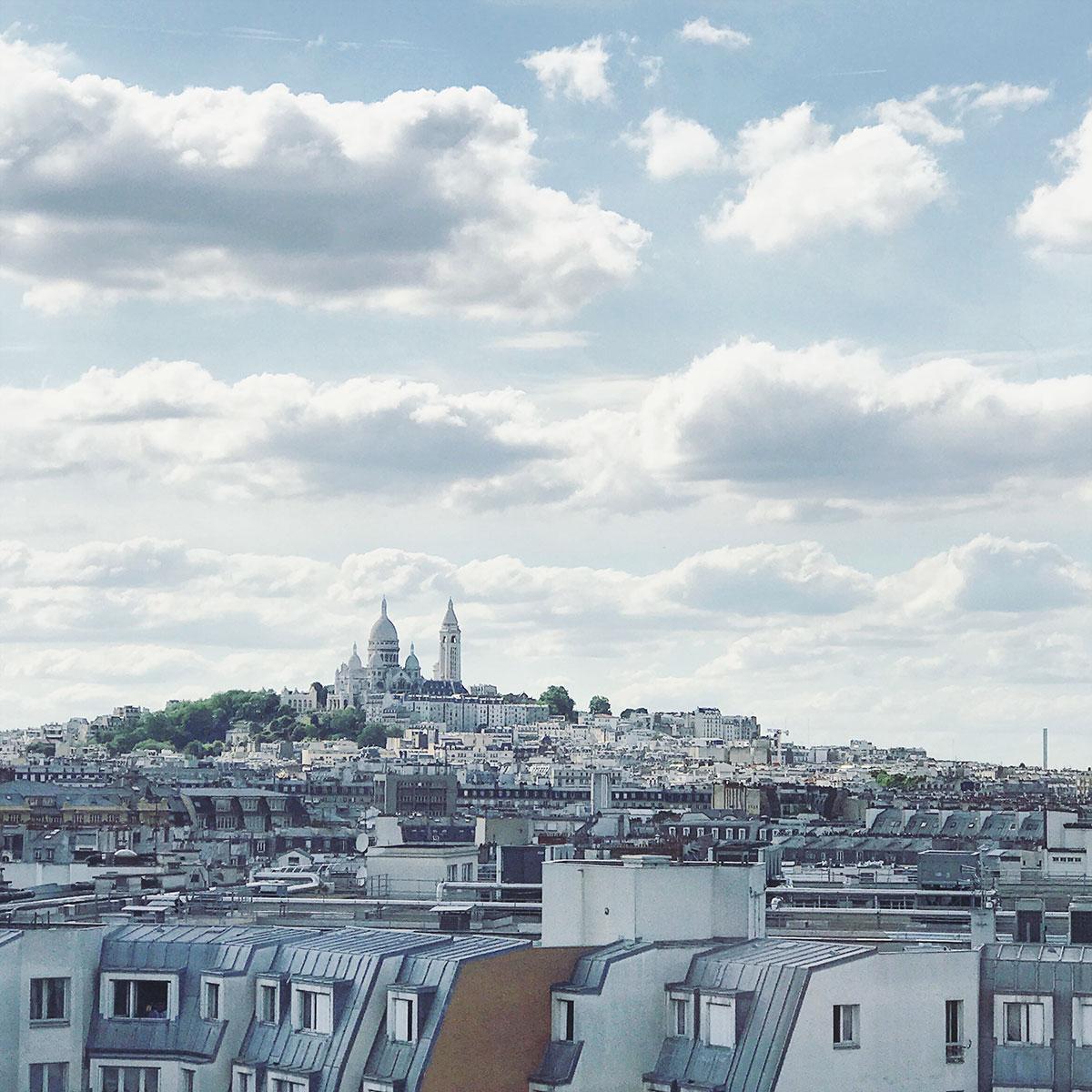 View of Sacré Coeur,