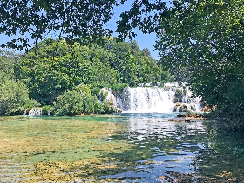 Krka National Park Croatia waterfalls