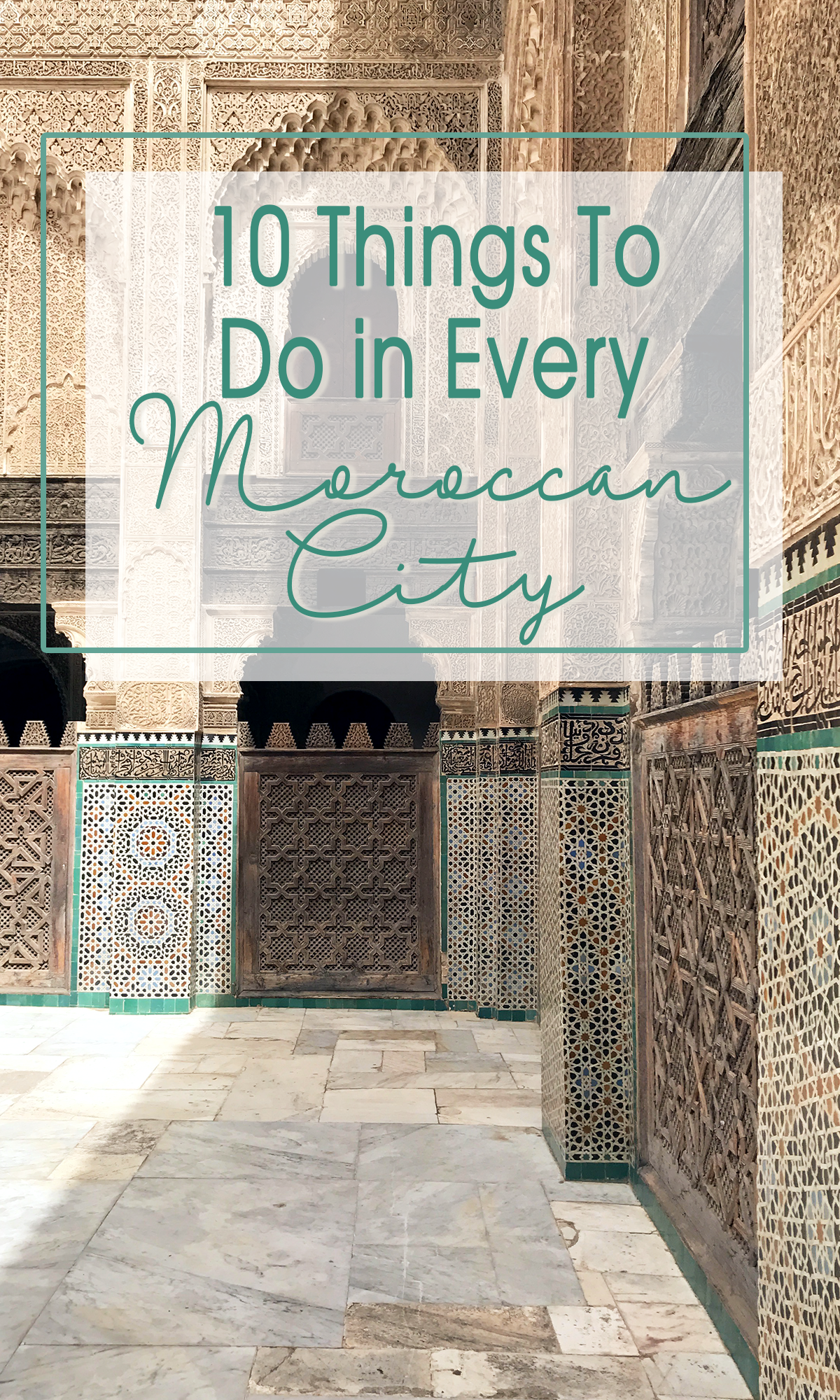 Travel Morocco | Things to do in Moroccan Cities