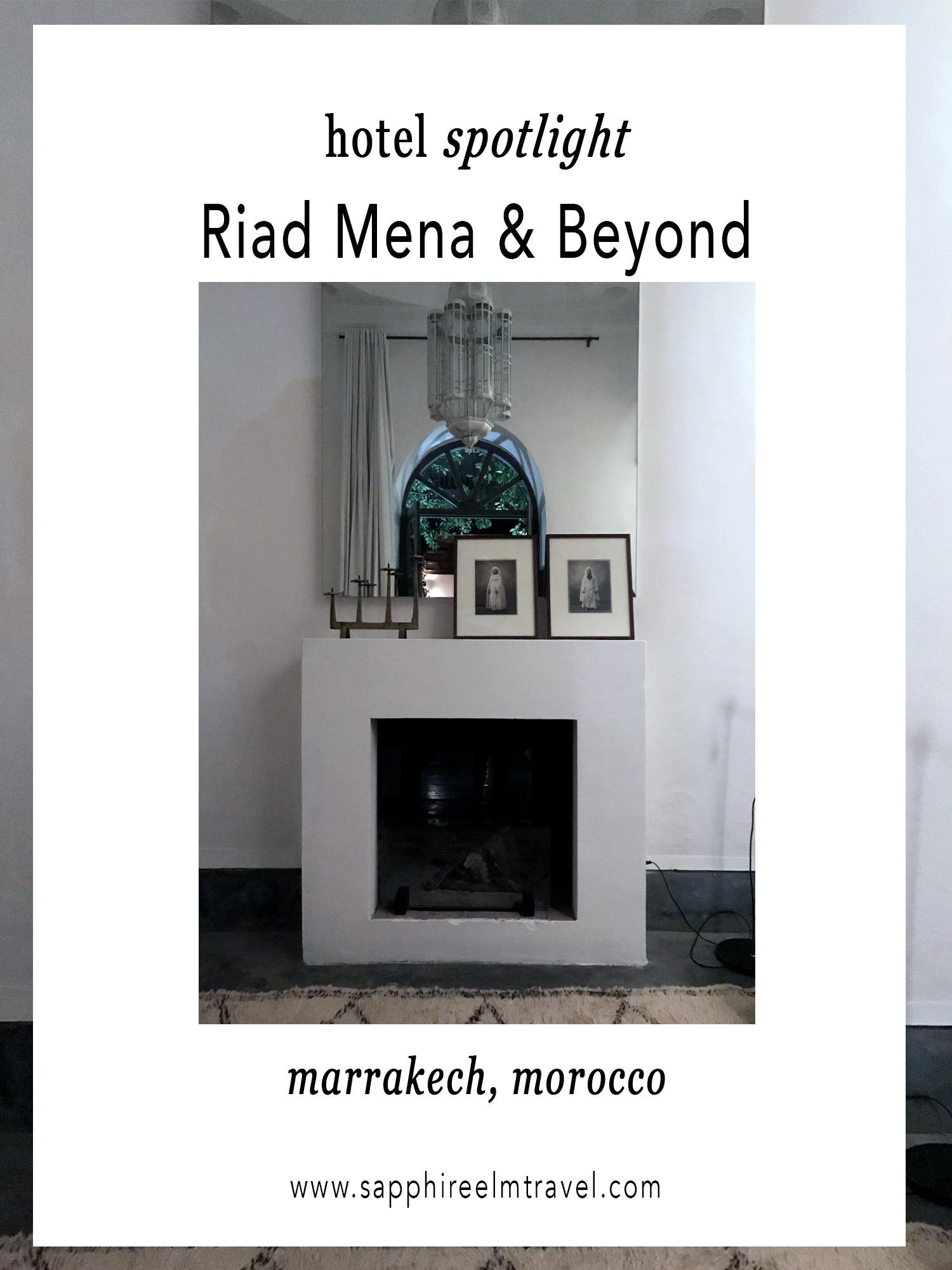 Riad Mena & Beyond Marrakech Morocco