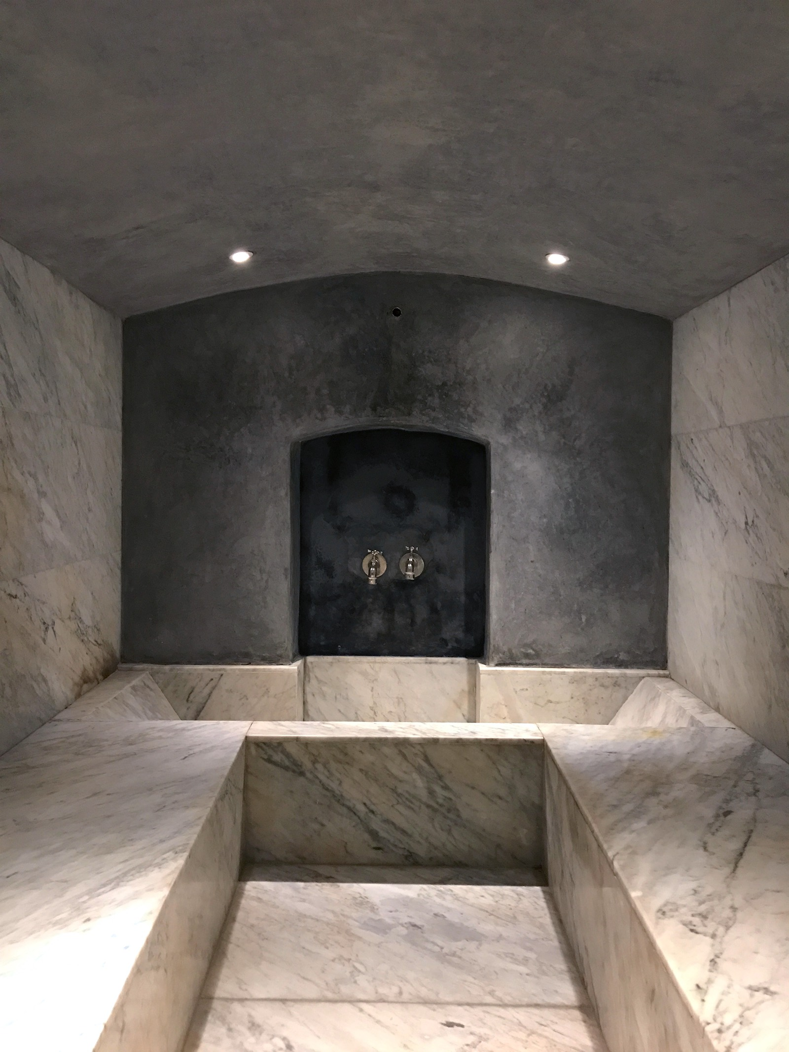 A private luxury hammam at the     riad mena & beyond in Marrakech
