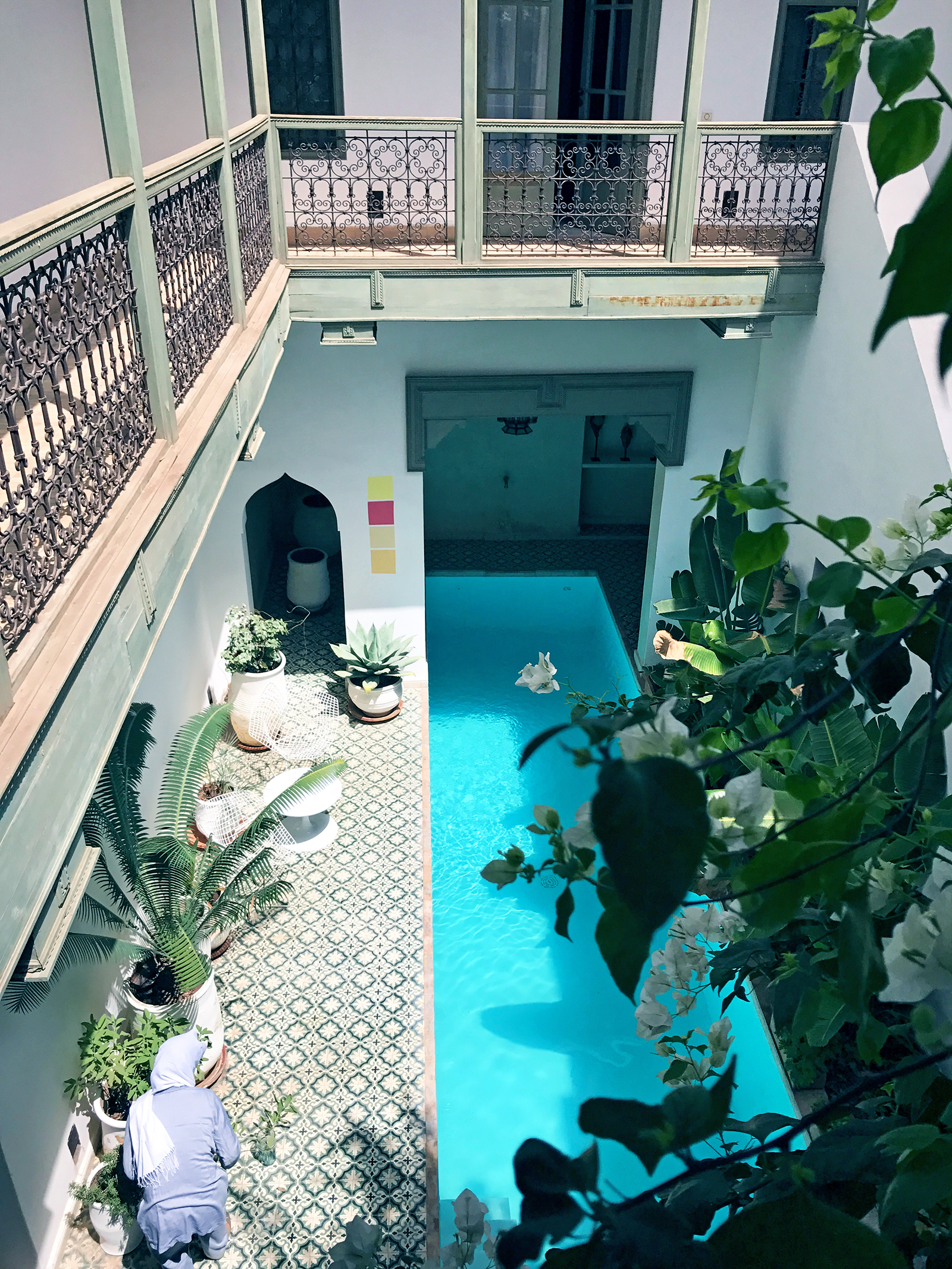 Marrakesh Morocco Riad Mena pool | Photos of Morocco