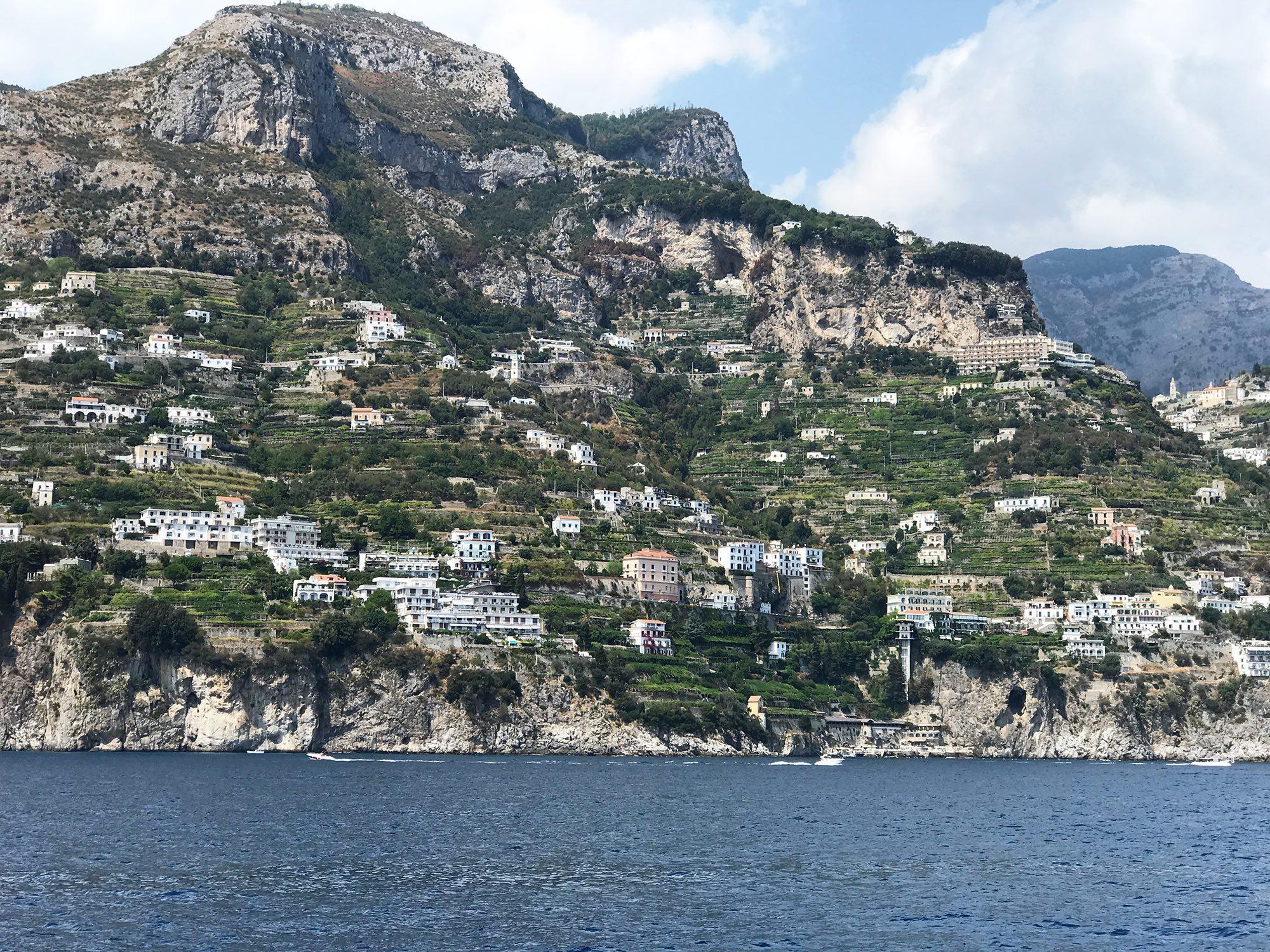 the town of Amalfi, Amalfi Coast, Italy