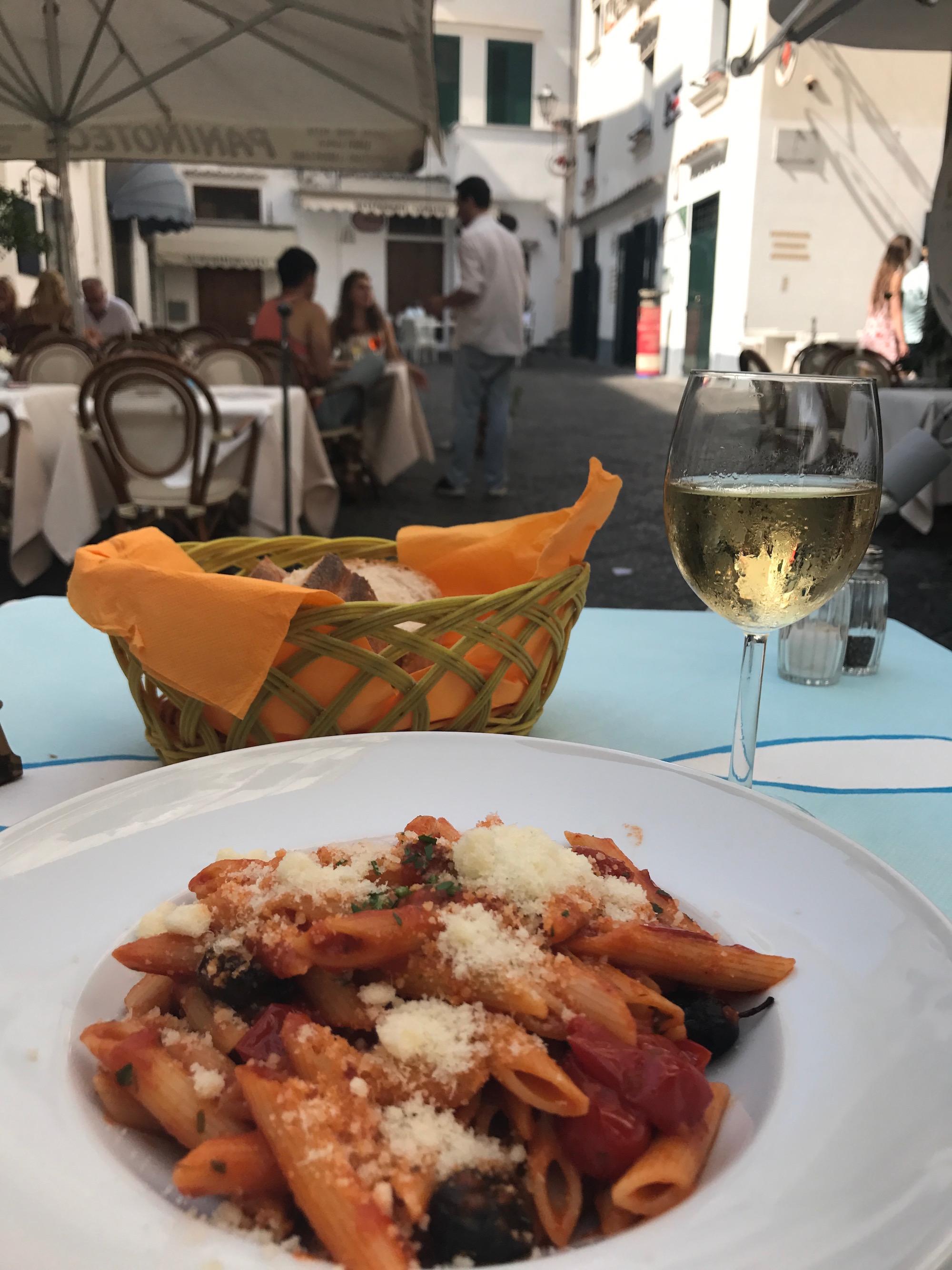 Amalfi Coast pasta