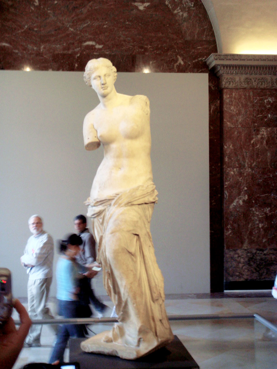 Venus de Milo statue. The Louvre, Paris, France. Photo taken on my first trip to paris in 2007.
