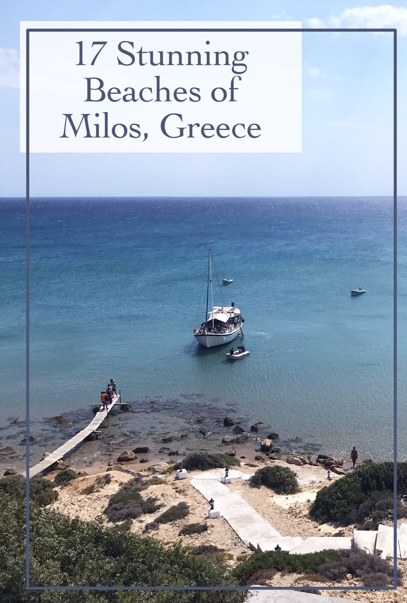 Top 17 Beaches on the island of Milos, Greece