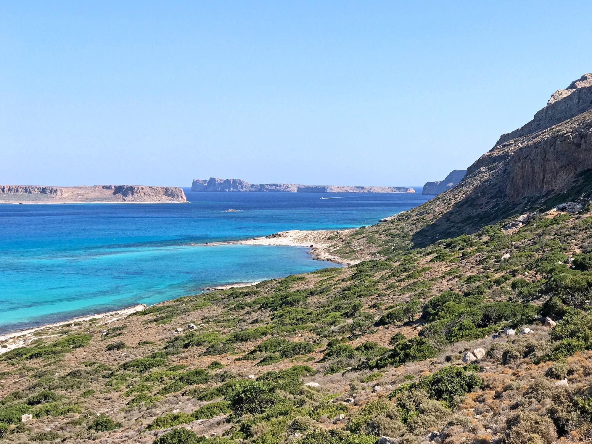 Balos Beach. Crete, Greece