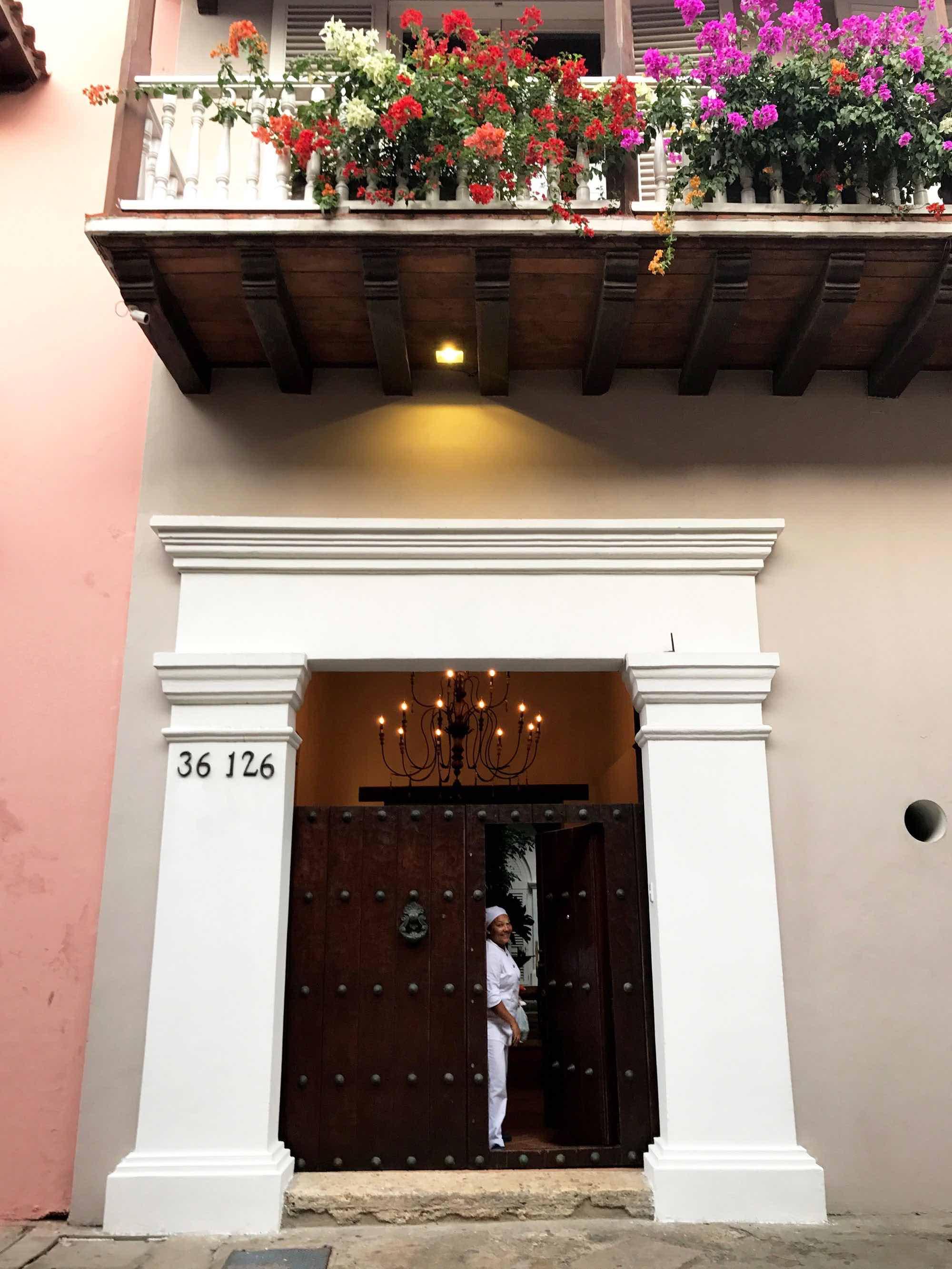 Doors and Door Knockers of Cartagena, Colombia | pictures of Cartagena, Colombia