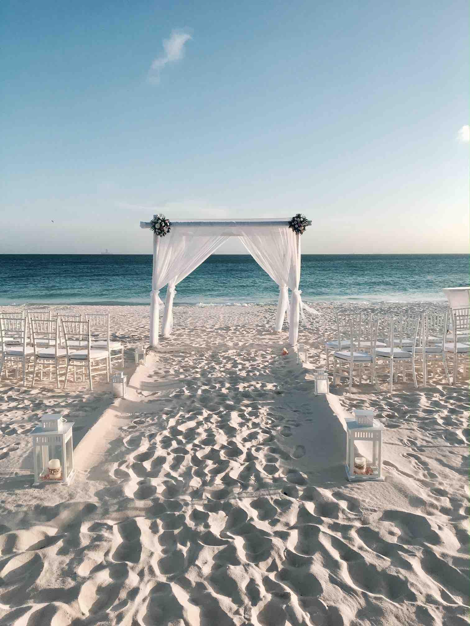 Caribbean Destination Wedding   Aruba