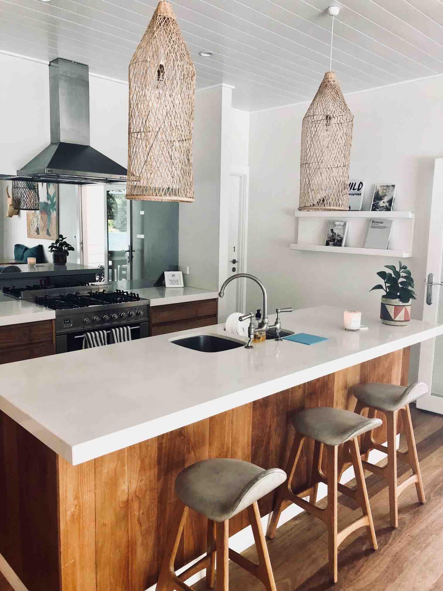 Kitchen at the Atlantic Byron Bay