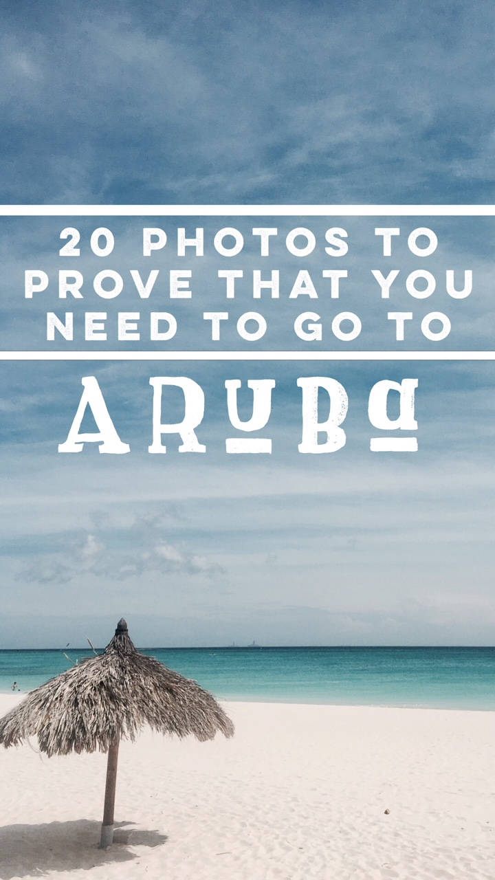 Why You Need to Go to Aruba Now