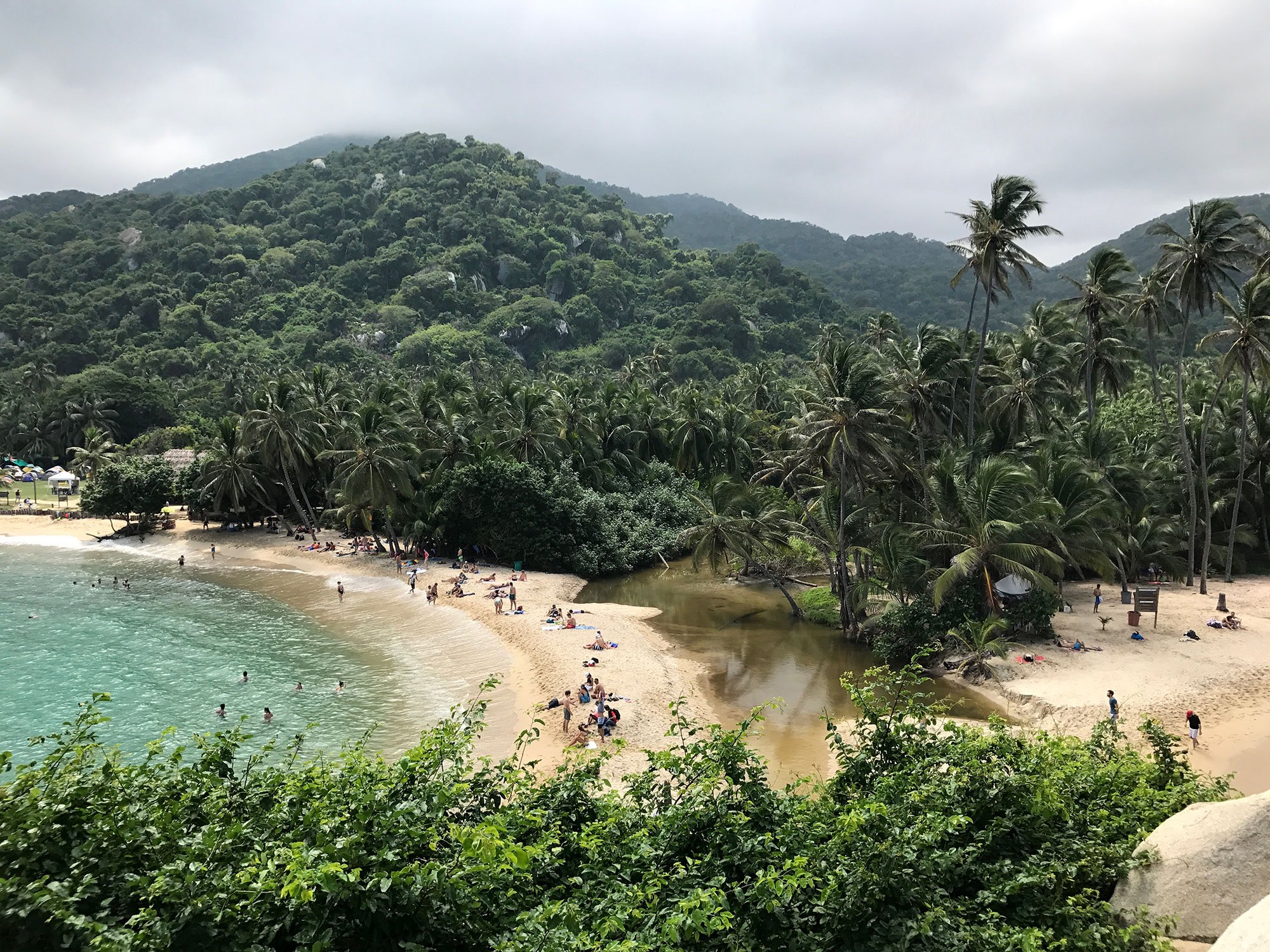 Mirror Beach at Cabo San Juan, Tayrona National Park, Colombia