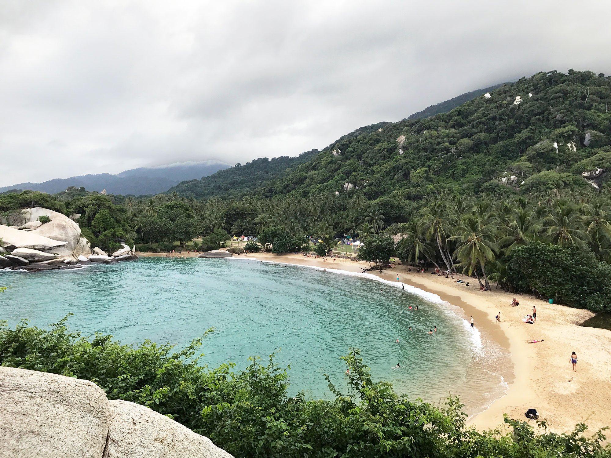 View of Cabo San Juan from El Mirador