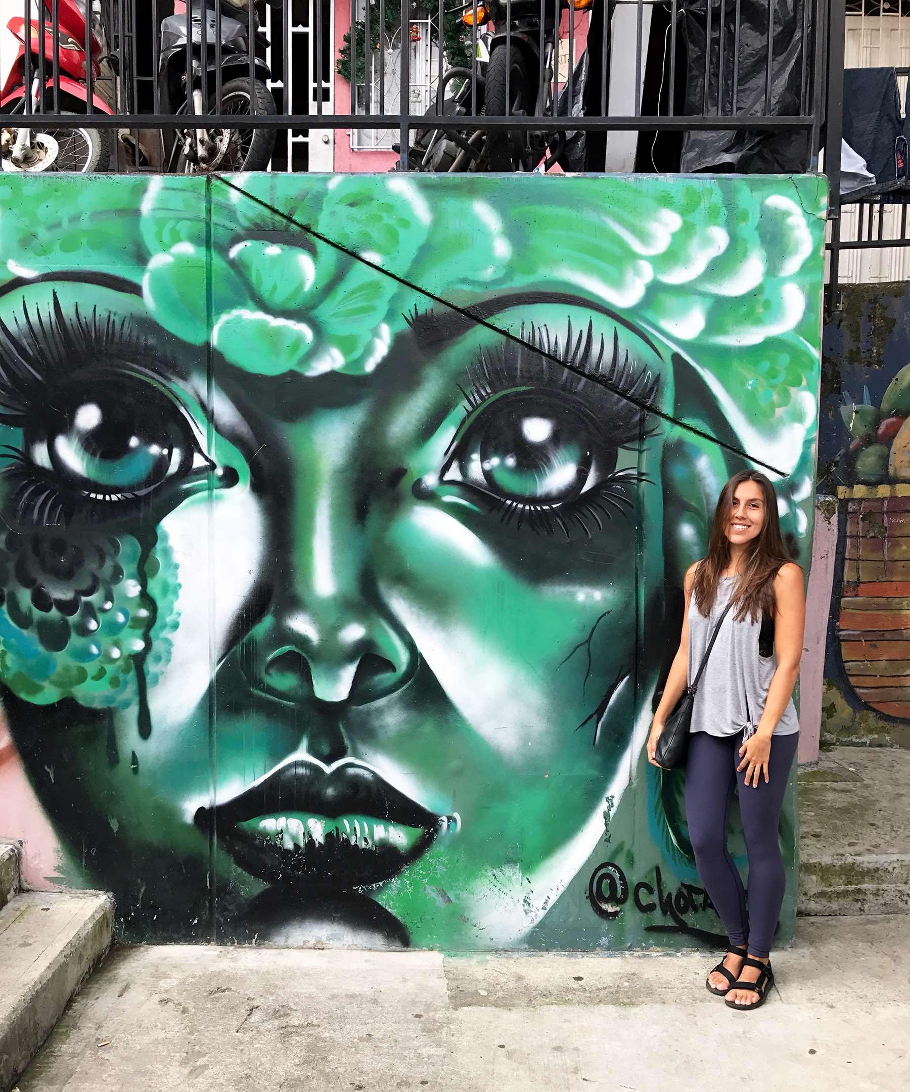 Street Art, Medellin, Colombia