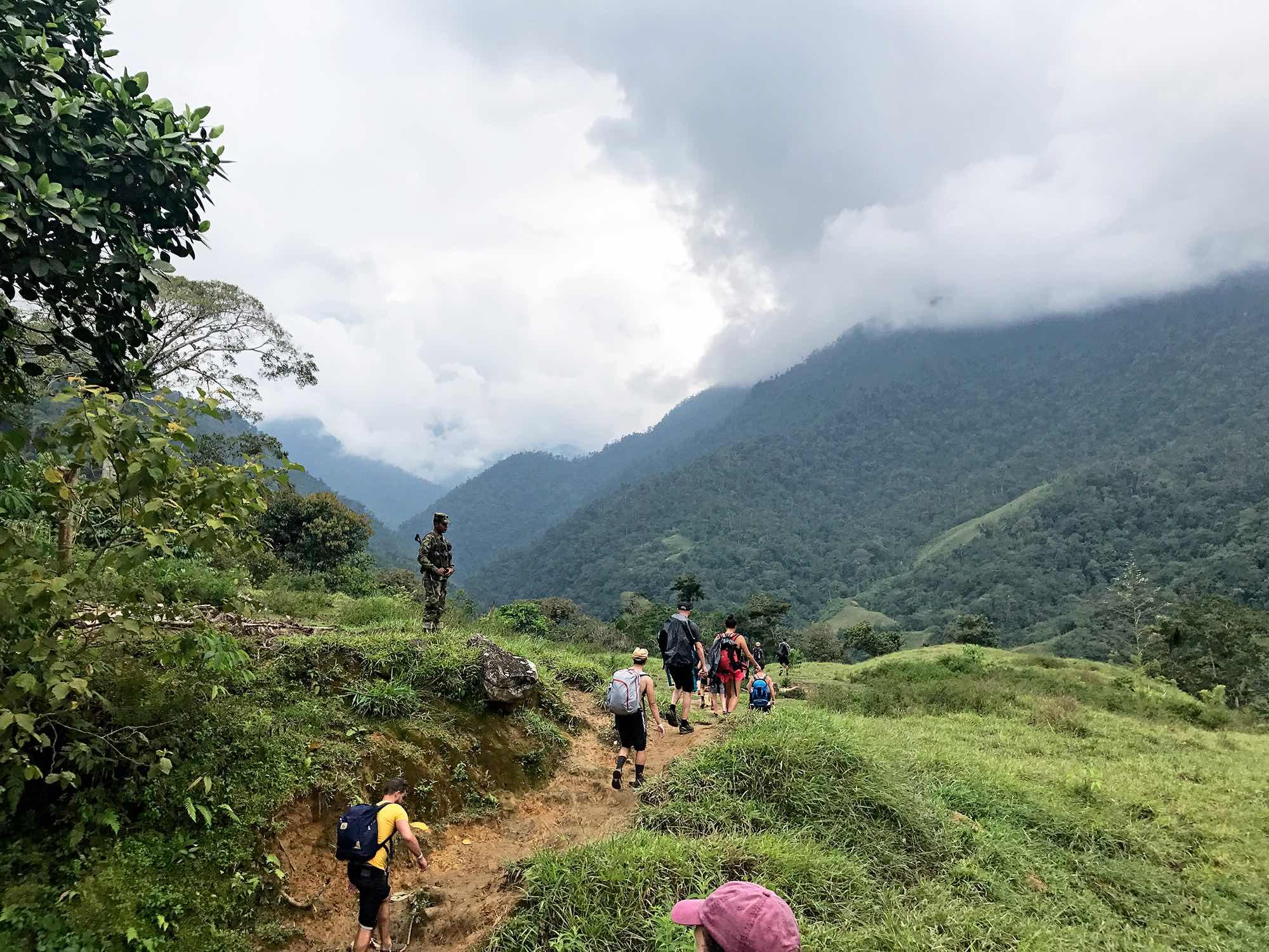 Lost-City-trek-Colombia-army.jpg