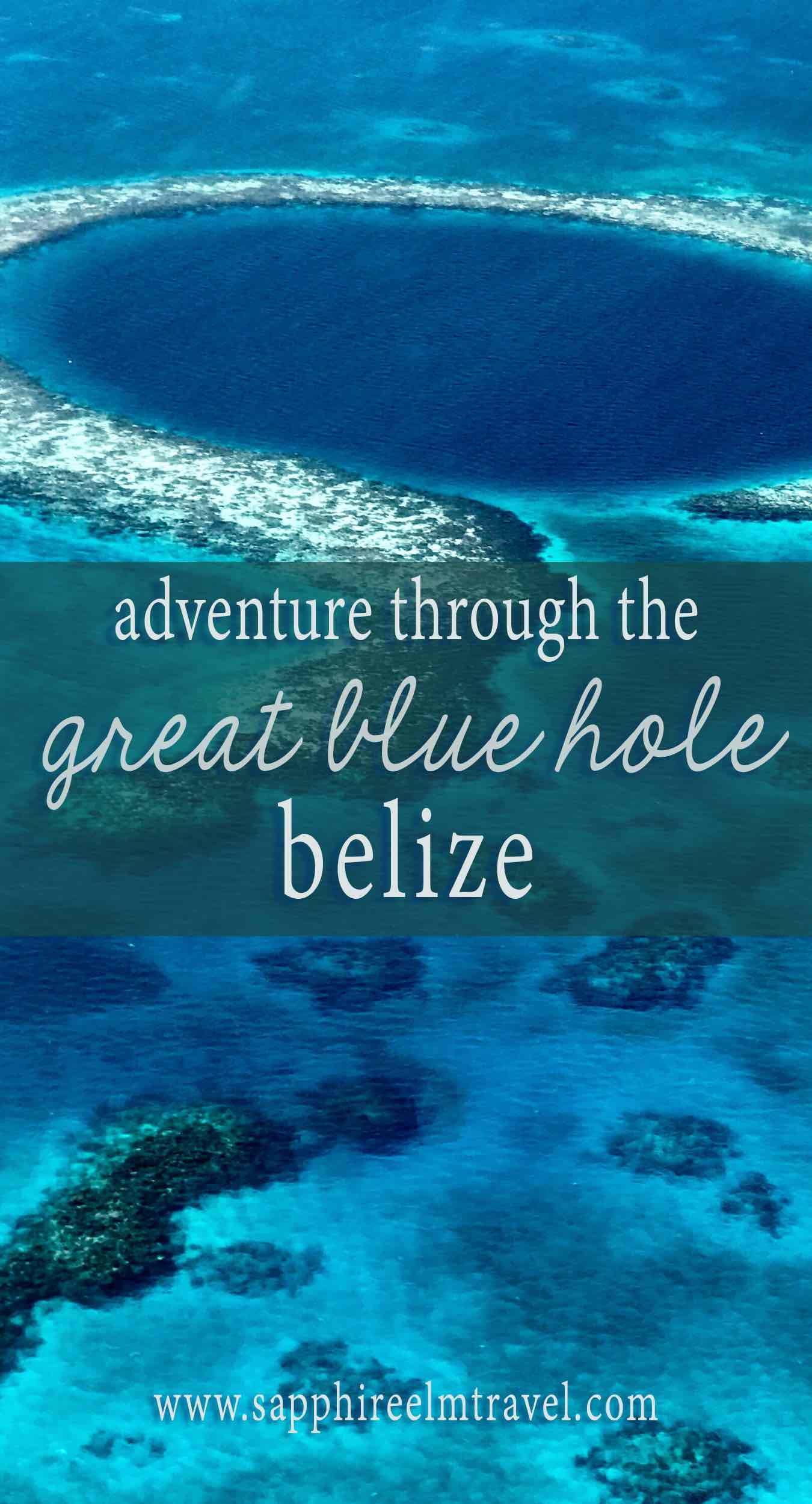 Adventure through the Great Blue Hole Belize