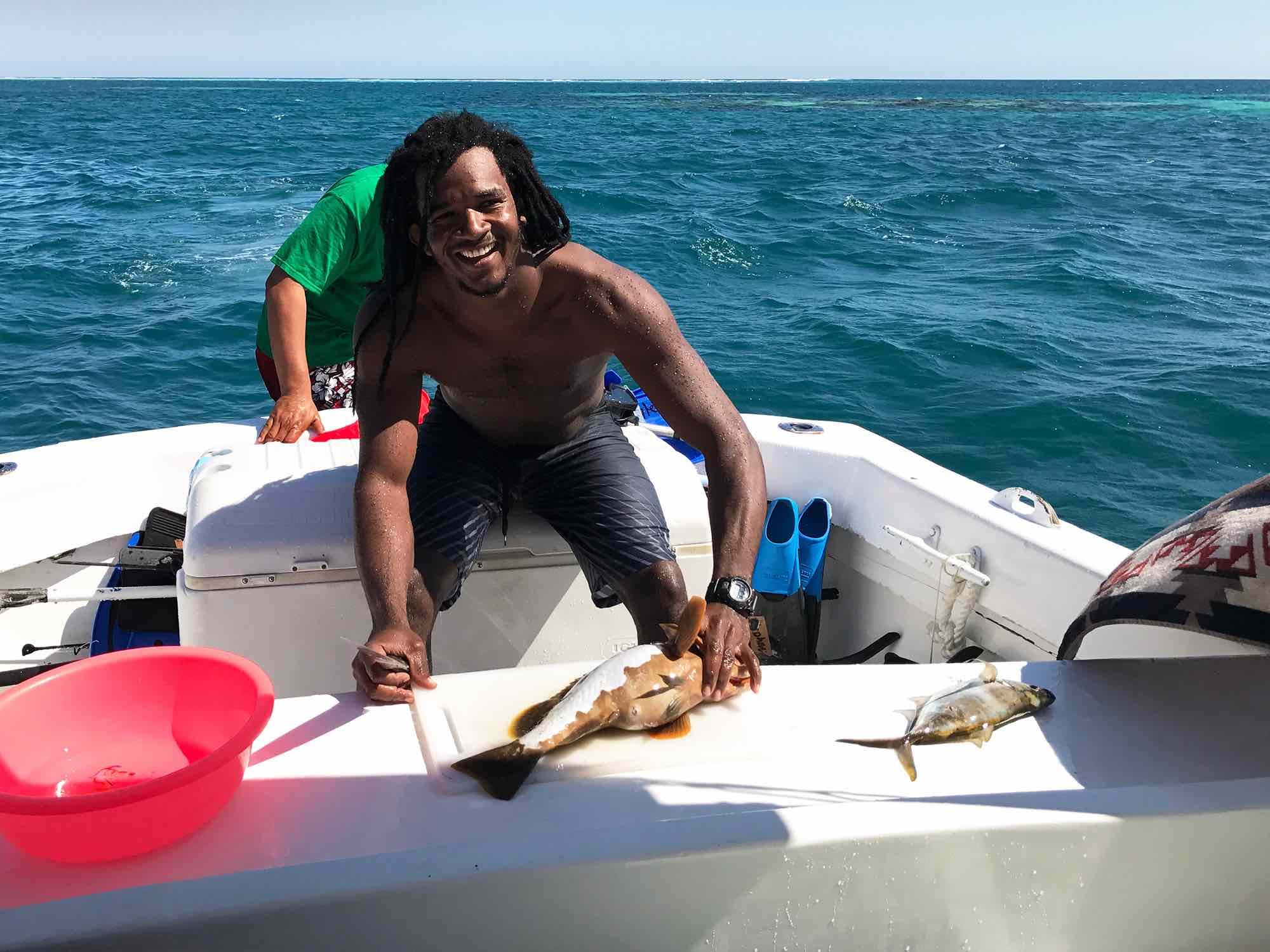 fresh seafood | Belize sailing trip