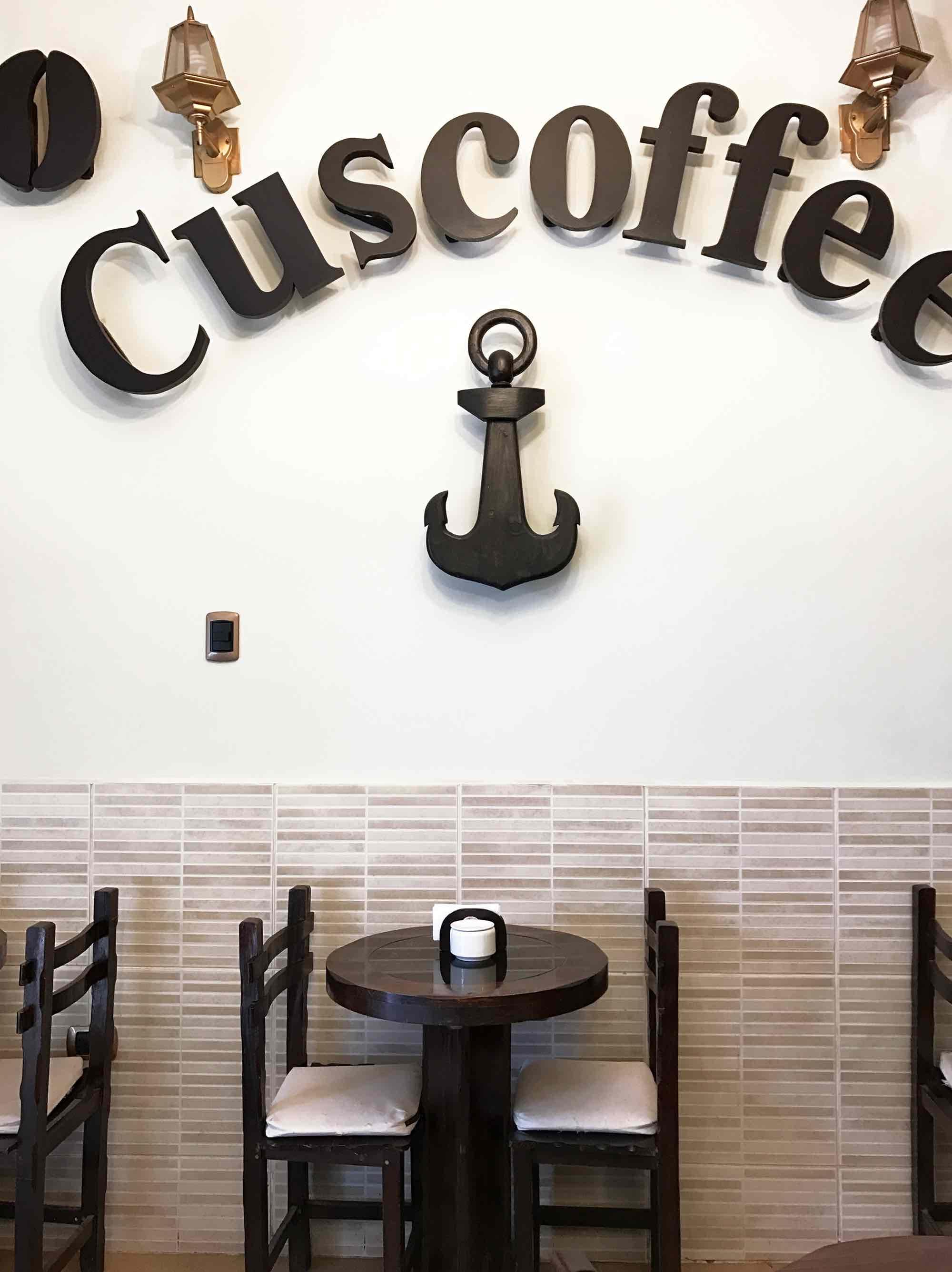 Cuscoffee cafe in Cusco Peru