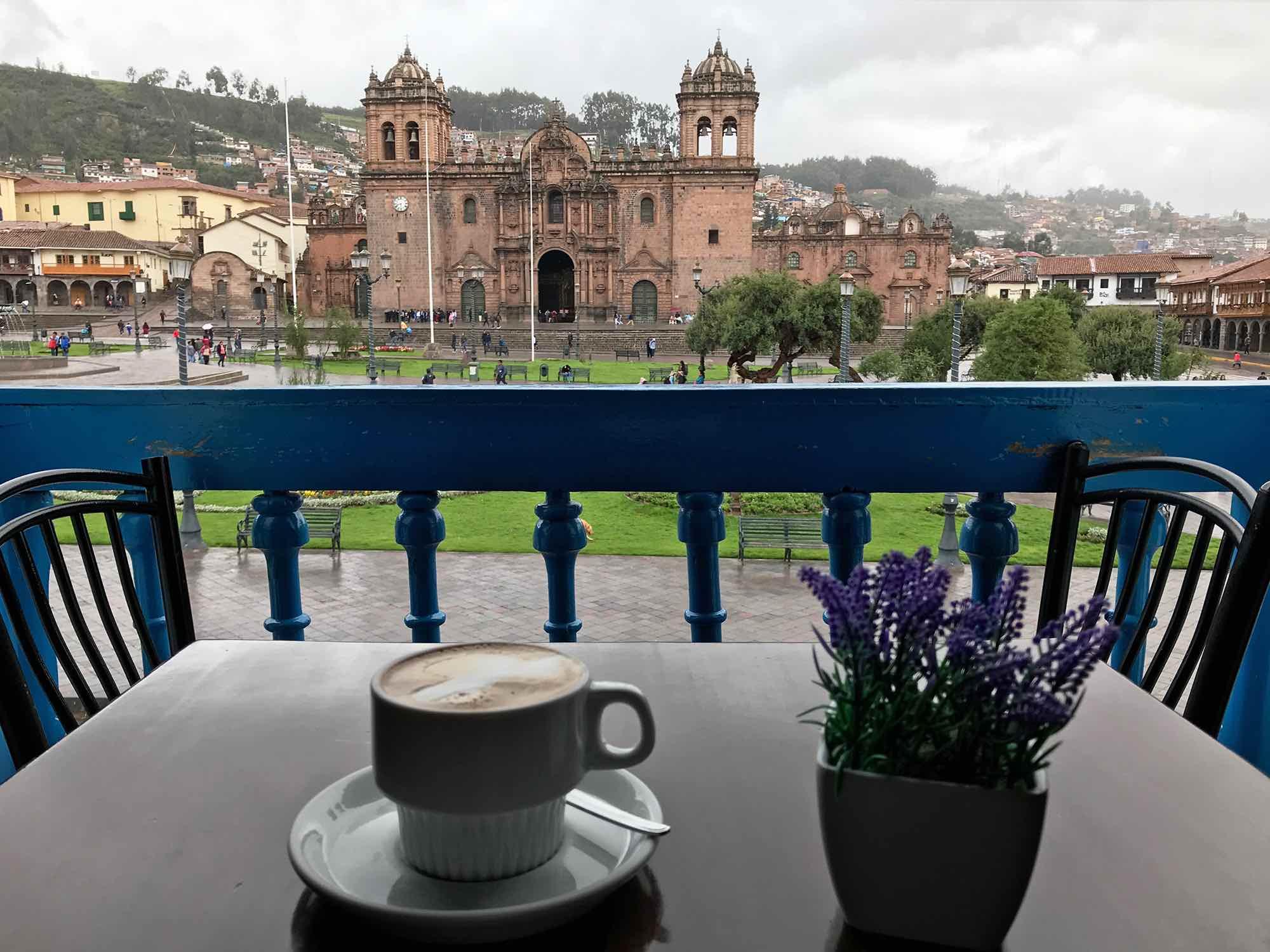 Cappuccino Cafe | best coffee shops for digital nomads in Cusco Peru