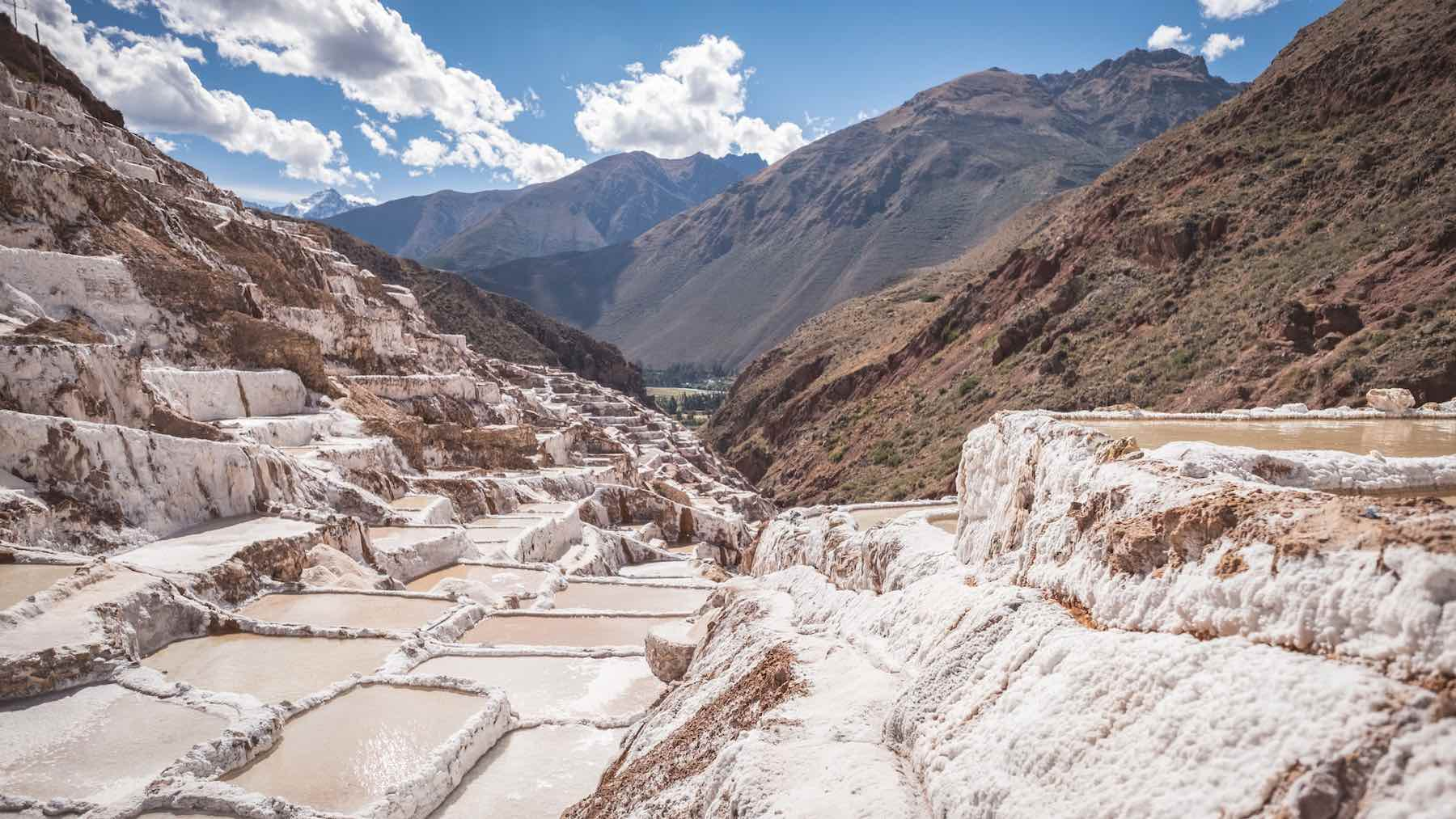Salinas de Maras salt pools | Lesser Known Inca Sites in the Sacred Valley of Peru