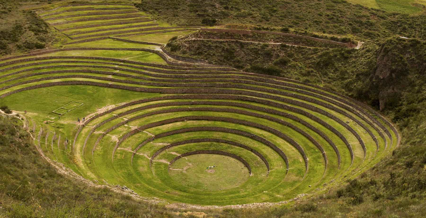Moray Inca Ruin Sacred Valley Peru