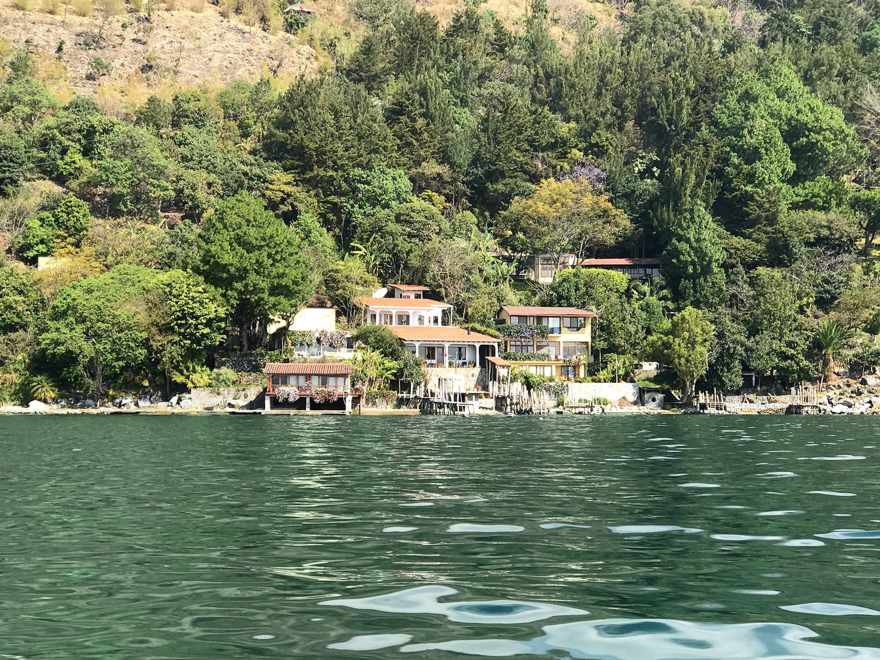shore of Lake Atitlan Guatemala