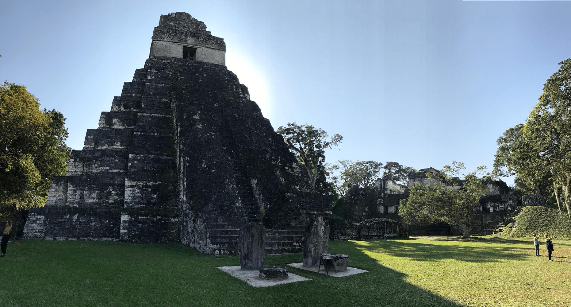 Tikal Guatemala temple 1