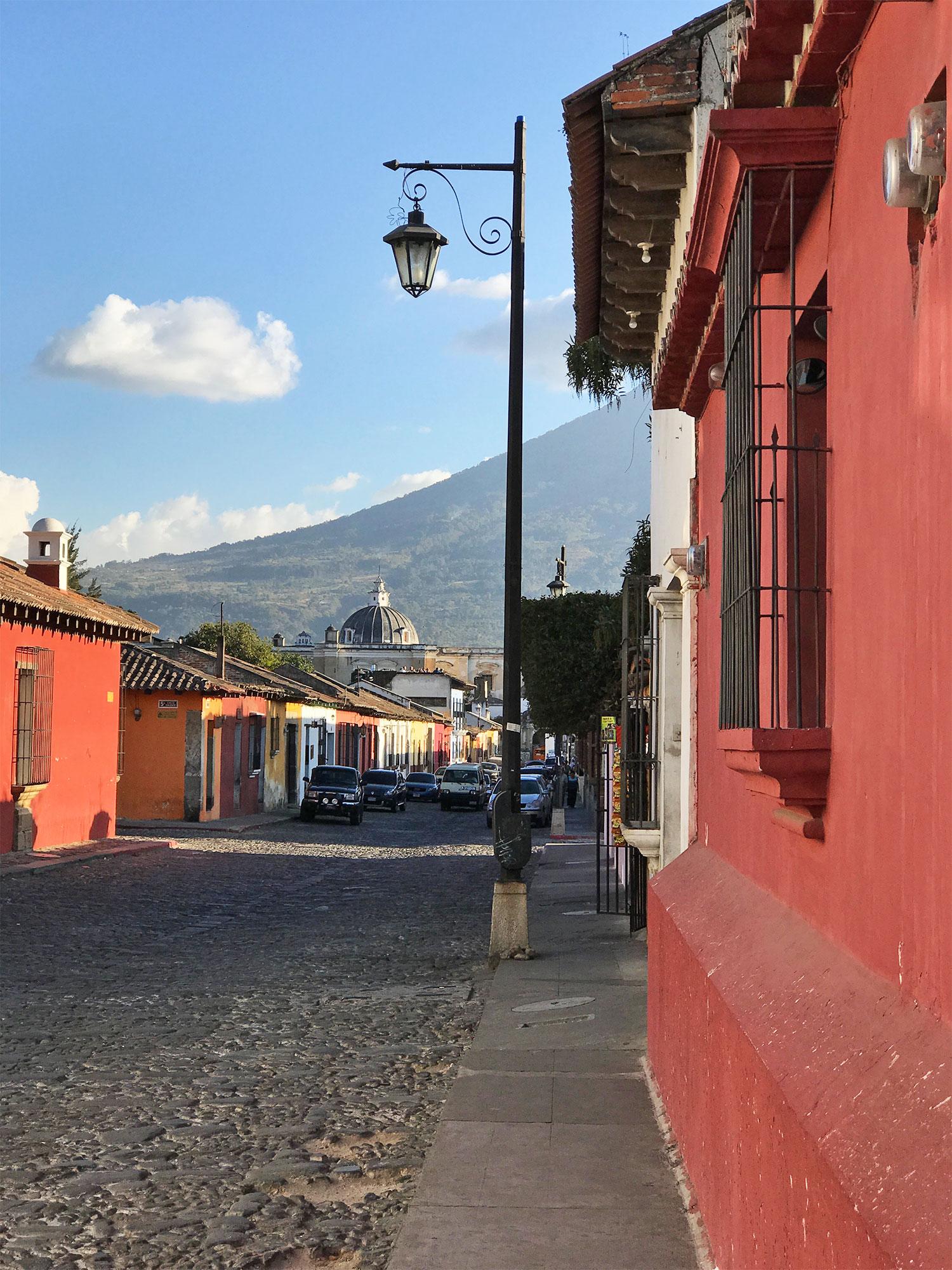 Cobbled streets of Antigua Guatemala