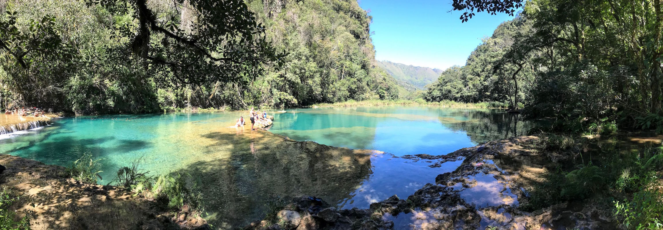 Semuc Champey Guatemala pools