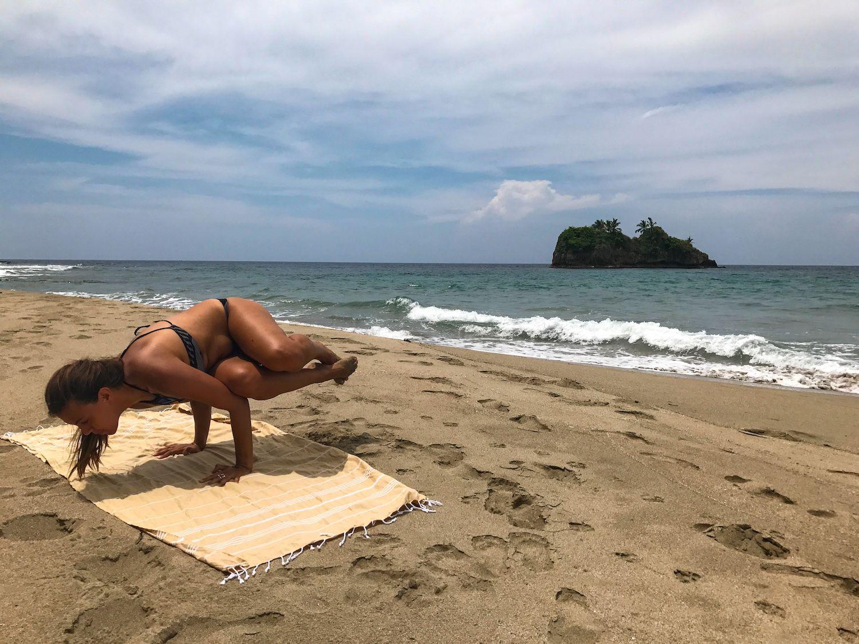 Playa Cocles beach near Puerto Viejo Costa Rica