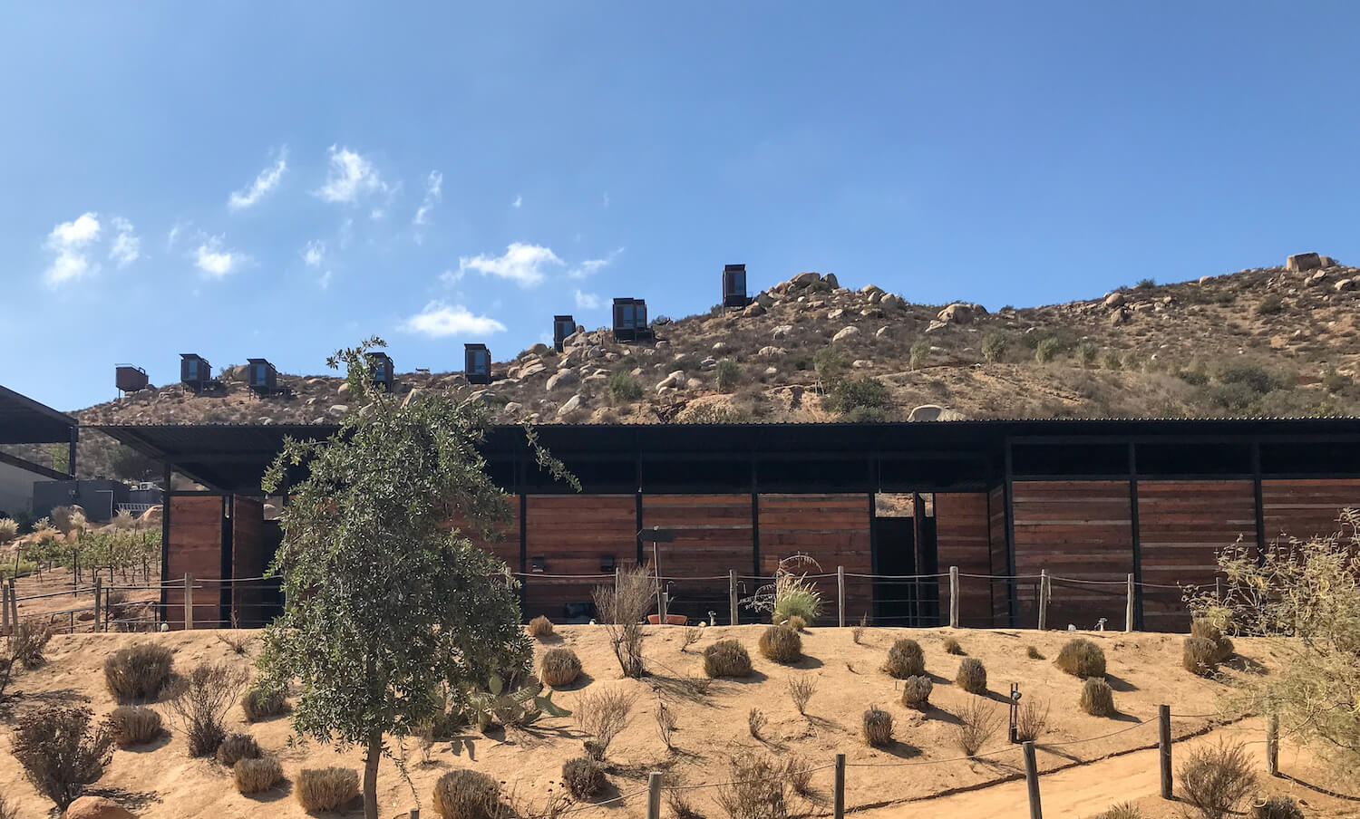 Encuentro Winery, Valle de Guadalupe, Mexico