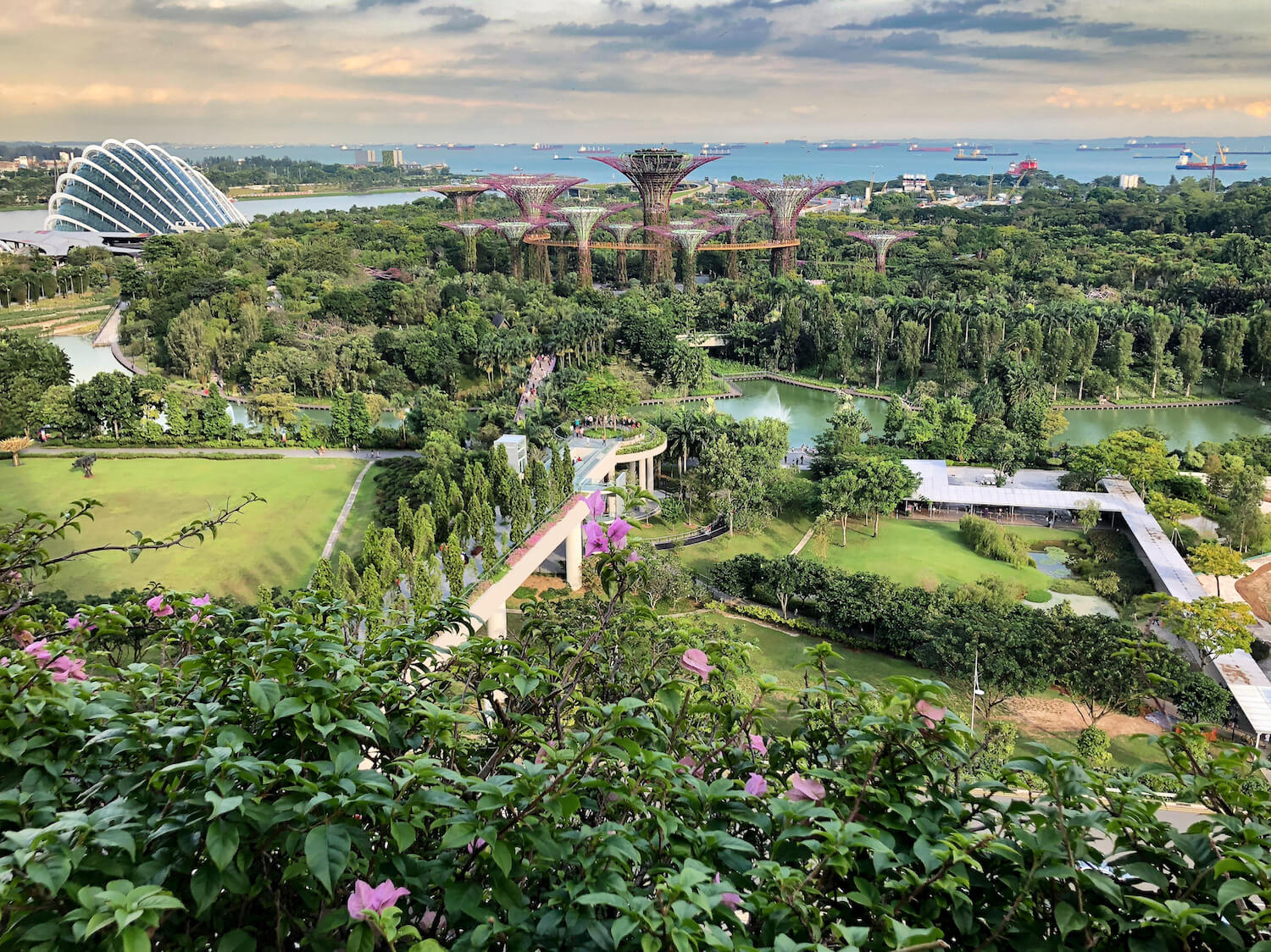 Garden by the Bay, Singapore | Warm Weather Destinations to Escape the Winter Cold