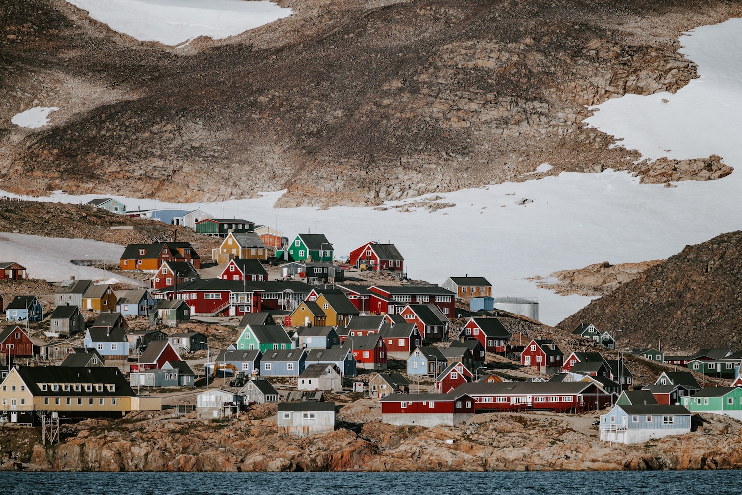 Greenland   Cities Threatened by Global Sea Level Rise