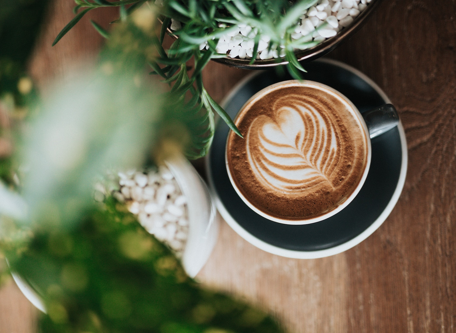 order coffee for here to reduce plastic use while traveling