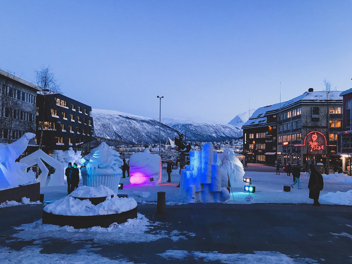 Tromso Norway winter