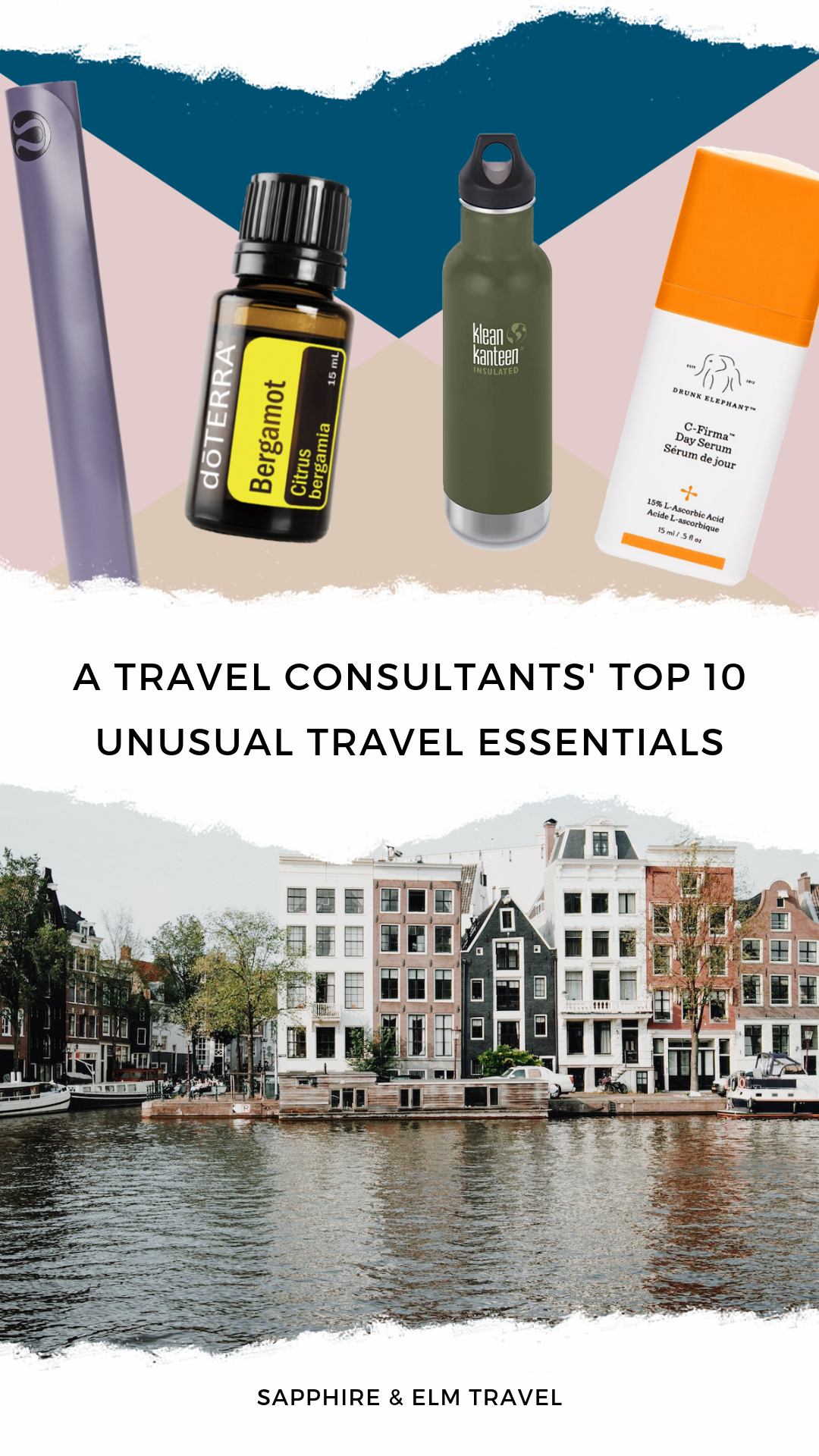 Travel Agents' Top 10 Unusual Travel Essentials | Sapphire & Elm Travel