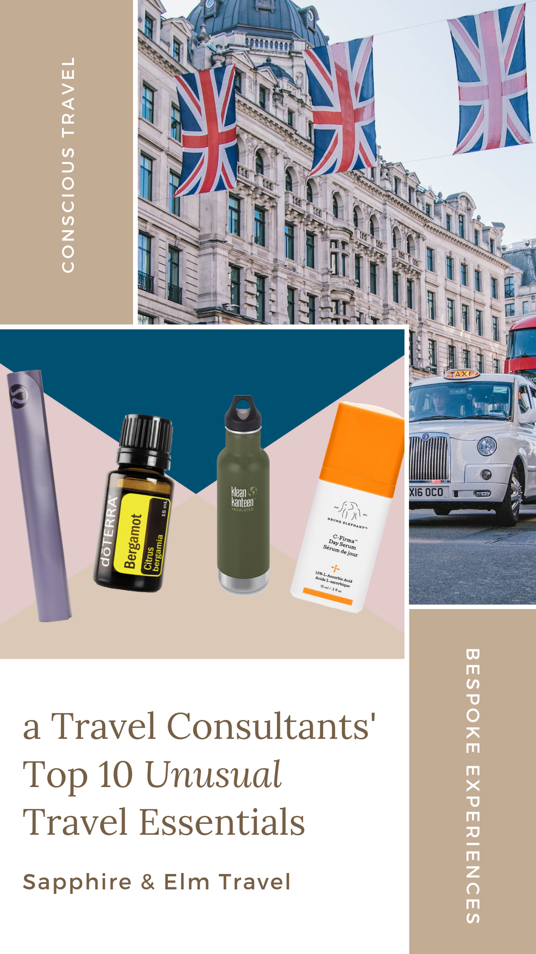 Top 10 Unusual Travel Essentials According to a Travel Consultant | Sapphire & Elm Travel